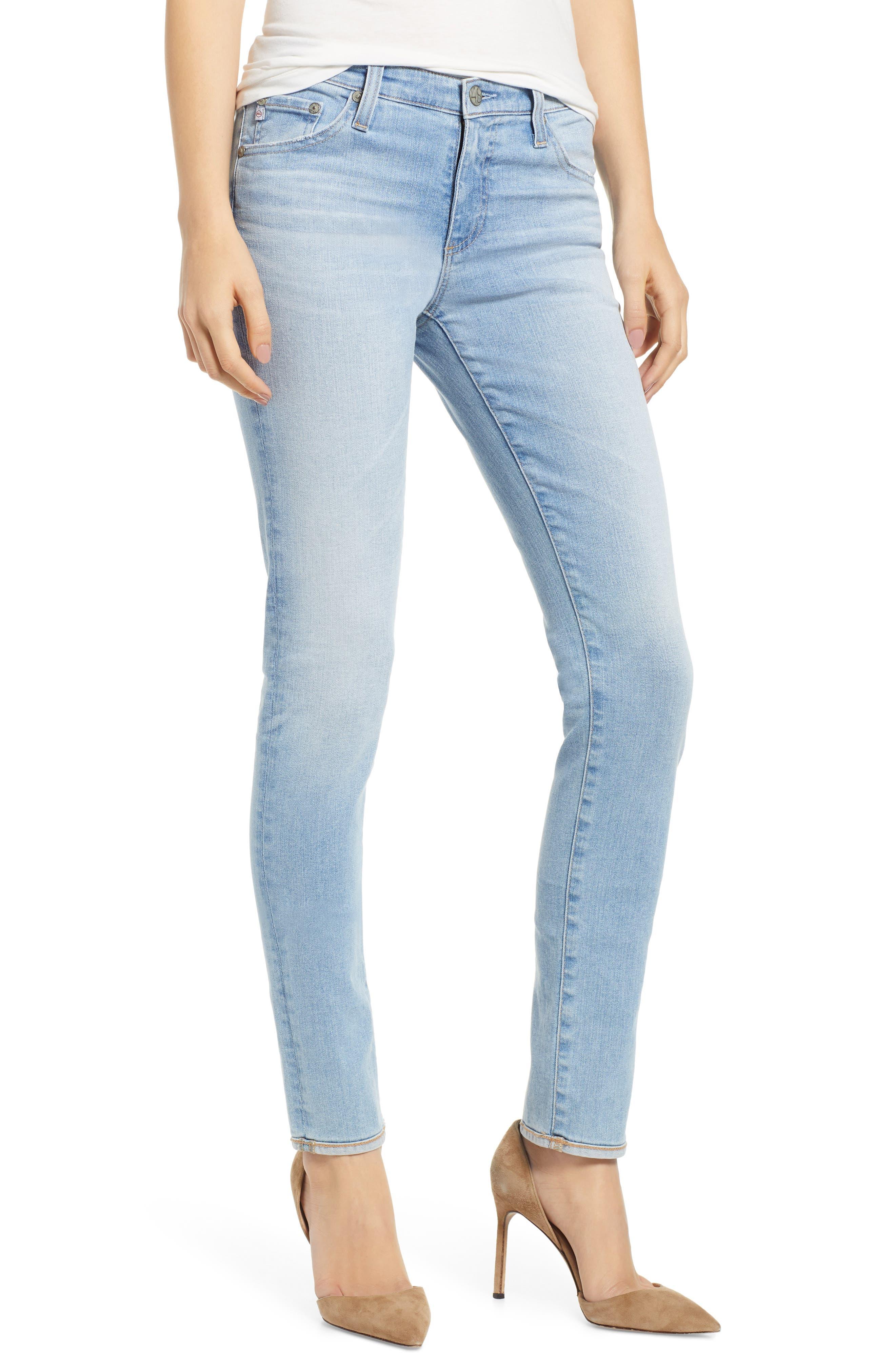 AG Prima Ankle Cigarette Jeans, Main, color, 27Y AVERSIONS
