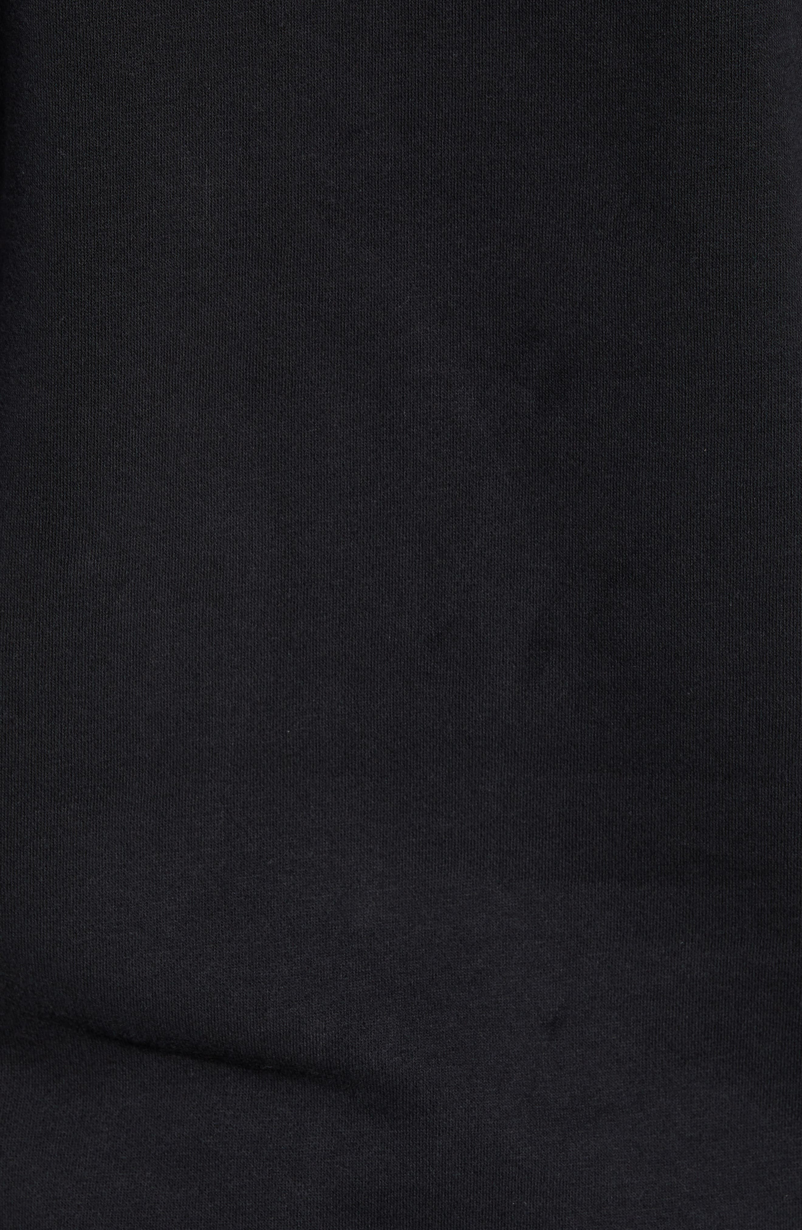 JORDAN, JSW Greatest Stats Graphic Sweatshirt, Alternate thumbnail 6, color, BLACK