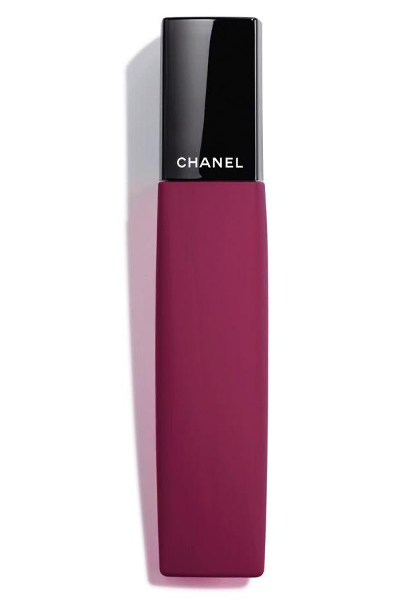 CHANEL, ROUGE ALLURE LIQUID POWDER<br />Liquid Matte Lip Color, Main thumbnail 1, color, 964 BITTERSWEET