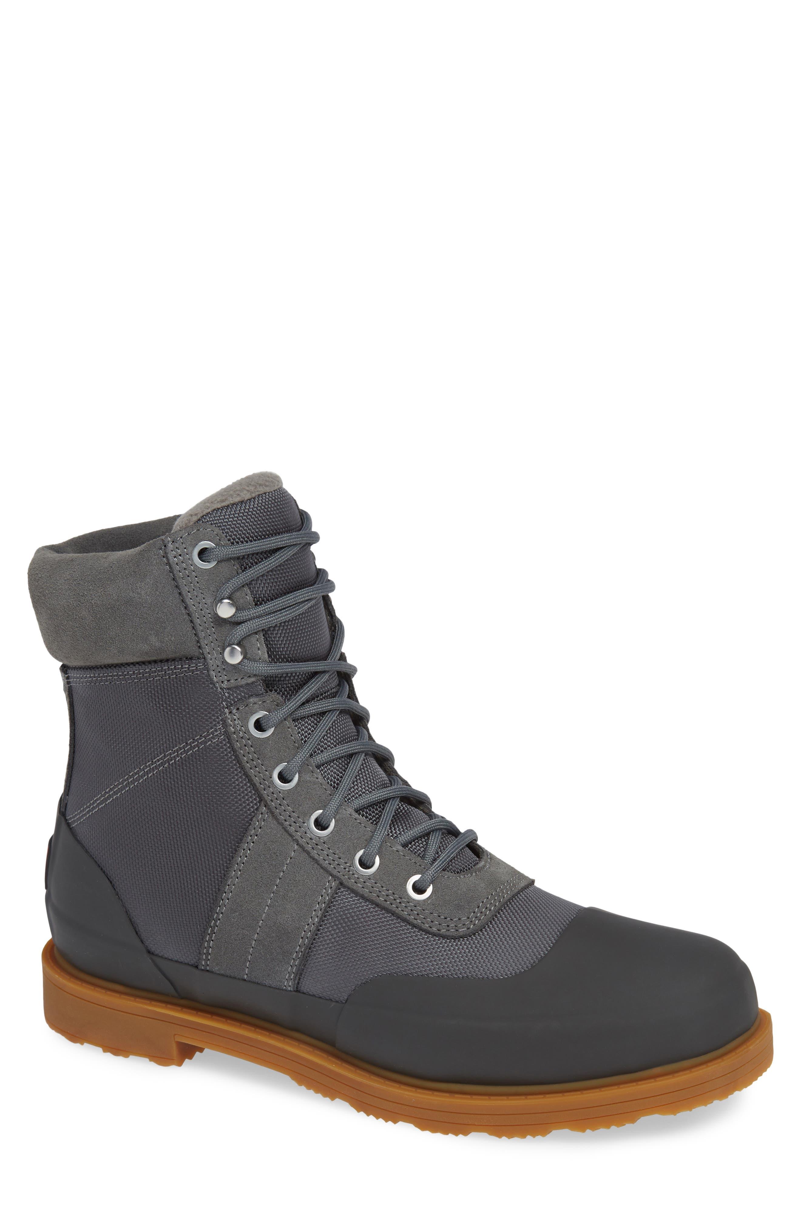 Hunter Original Insulated Commando Boot, Grey