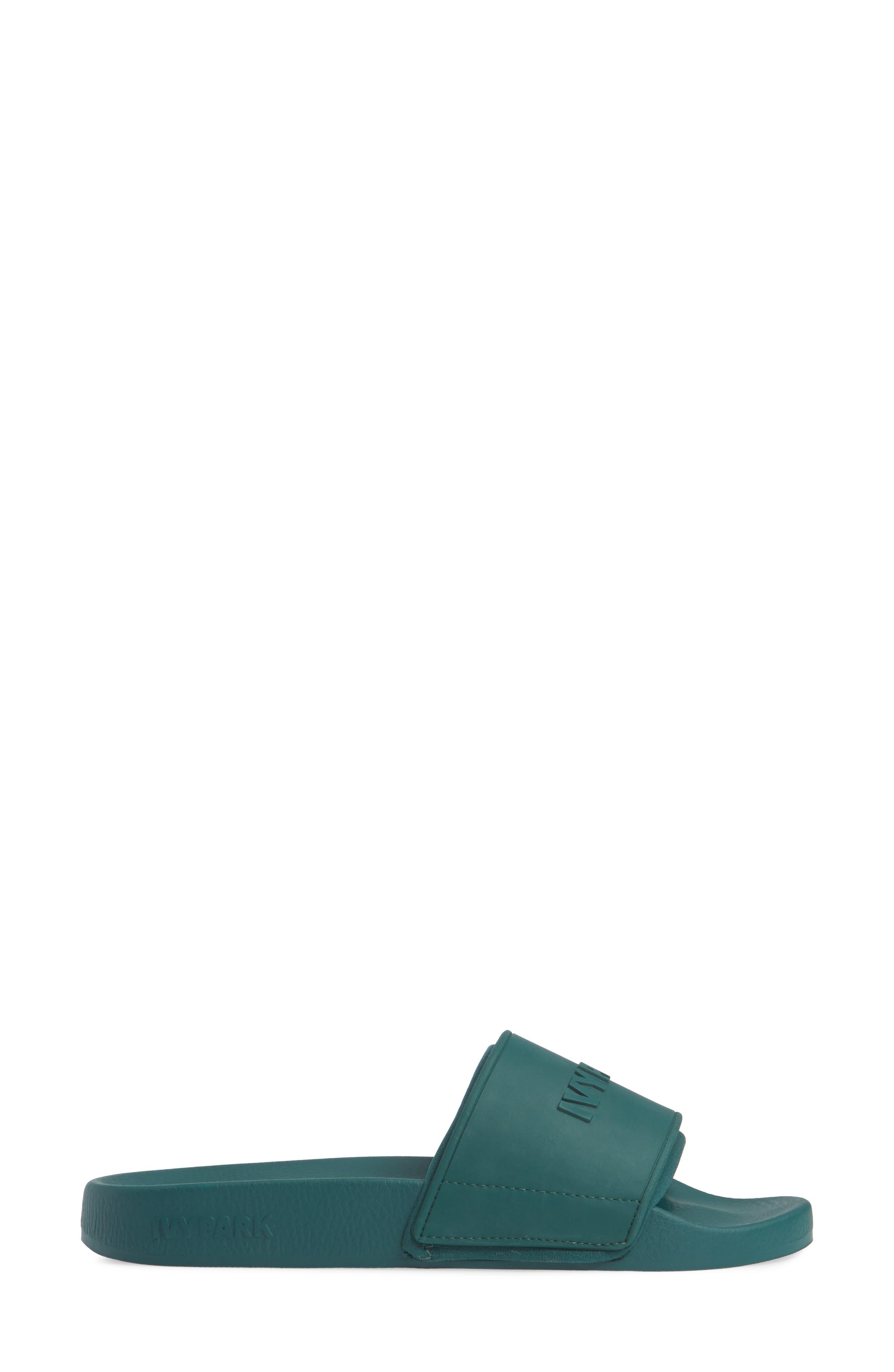 IVY PARK<SUP>®</SUP>, Embossed Logo Slide Sandal, Alternate thumbnail 3, color, 300