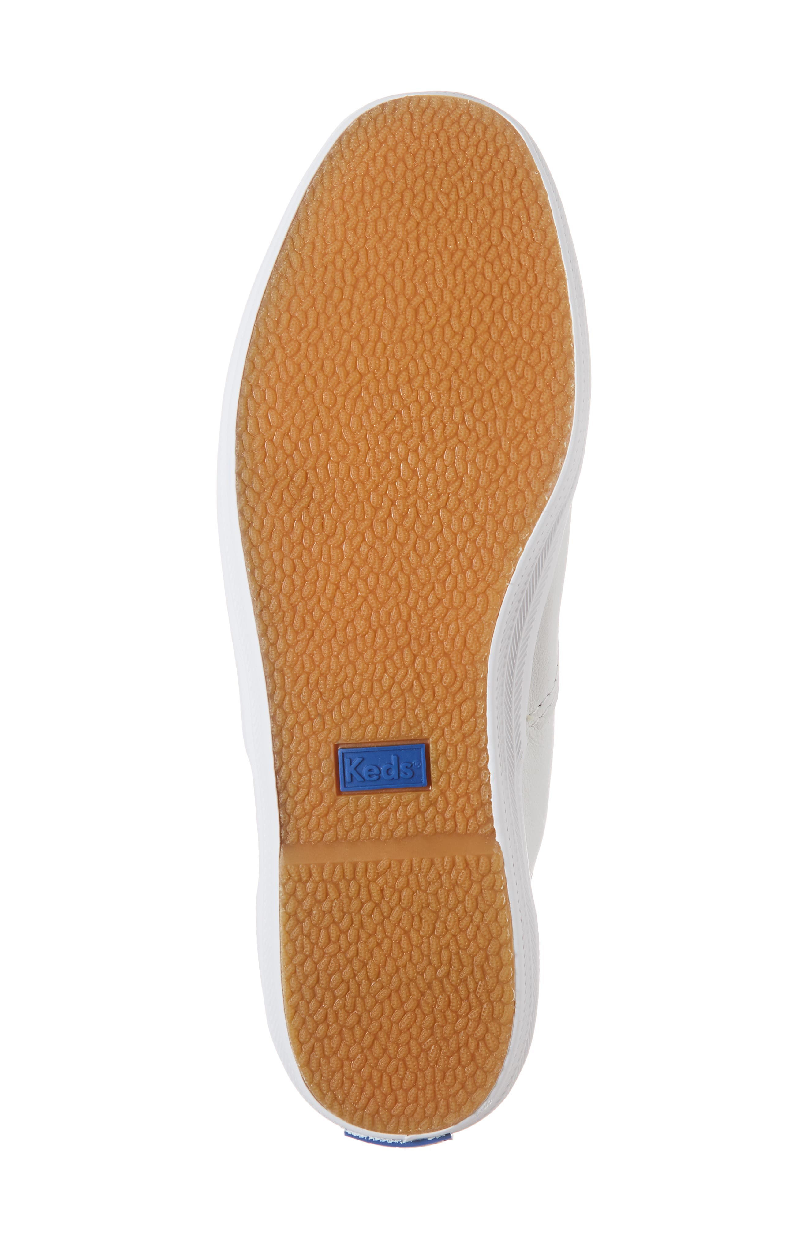 KEDS<SUP>®</SUP>, 'Champion  Leather' Sneaker, Alternate thumbnail 7, color, White