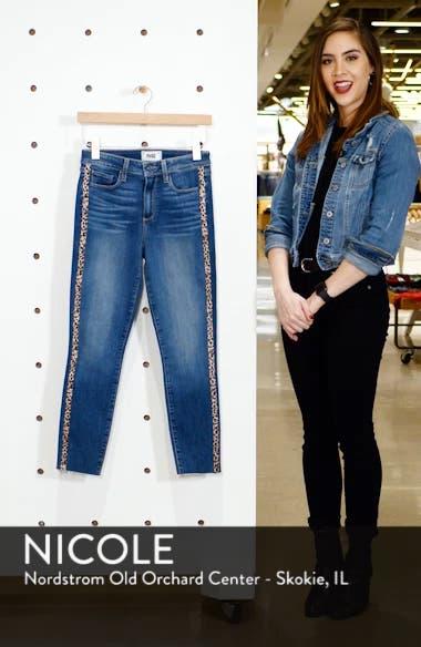 Hoxton High Waist Raw Hem Crop Skinny Jeans, sales video thumbnail