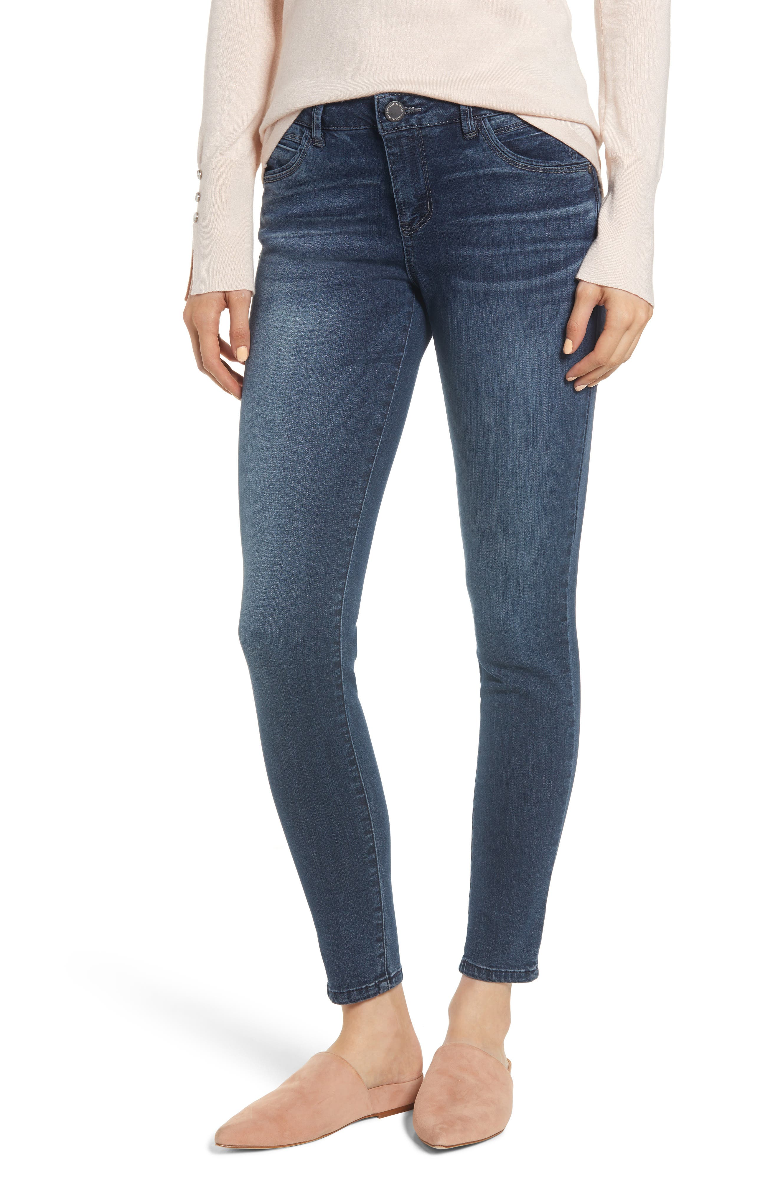 WIT & WISDOM, Contemporary Skinny Jeans, Main thumbnail 1, color, 402