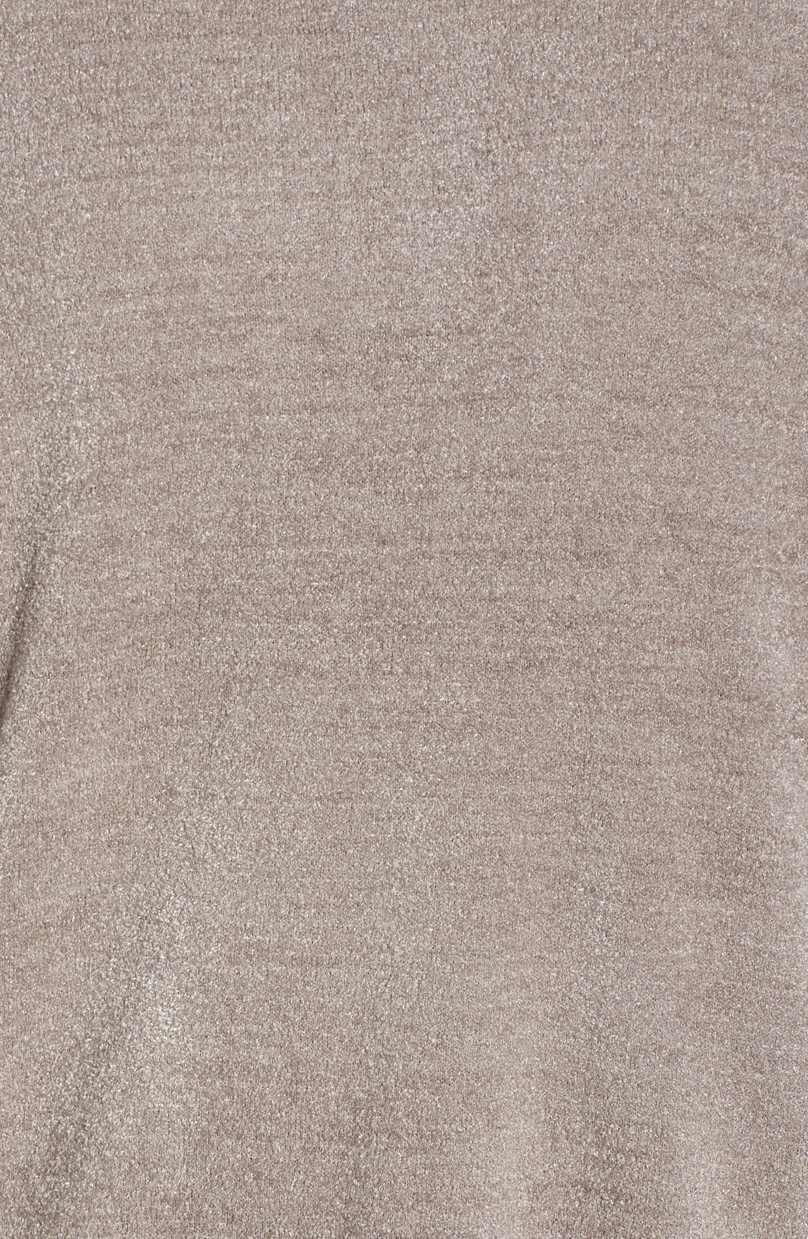 BAREFOOT DREAMS<SUP>®</SUP>, Cozychic Ultra Lite<sup>®</sup> Lounge Pullover, Alternate thumbnail 5, color, BEACH ROCK