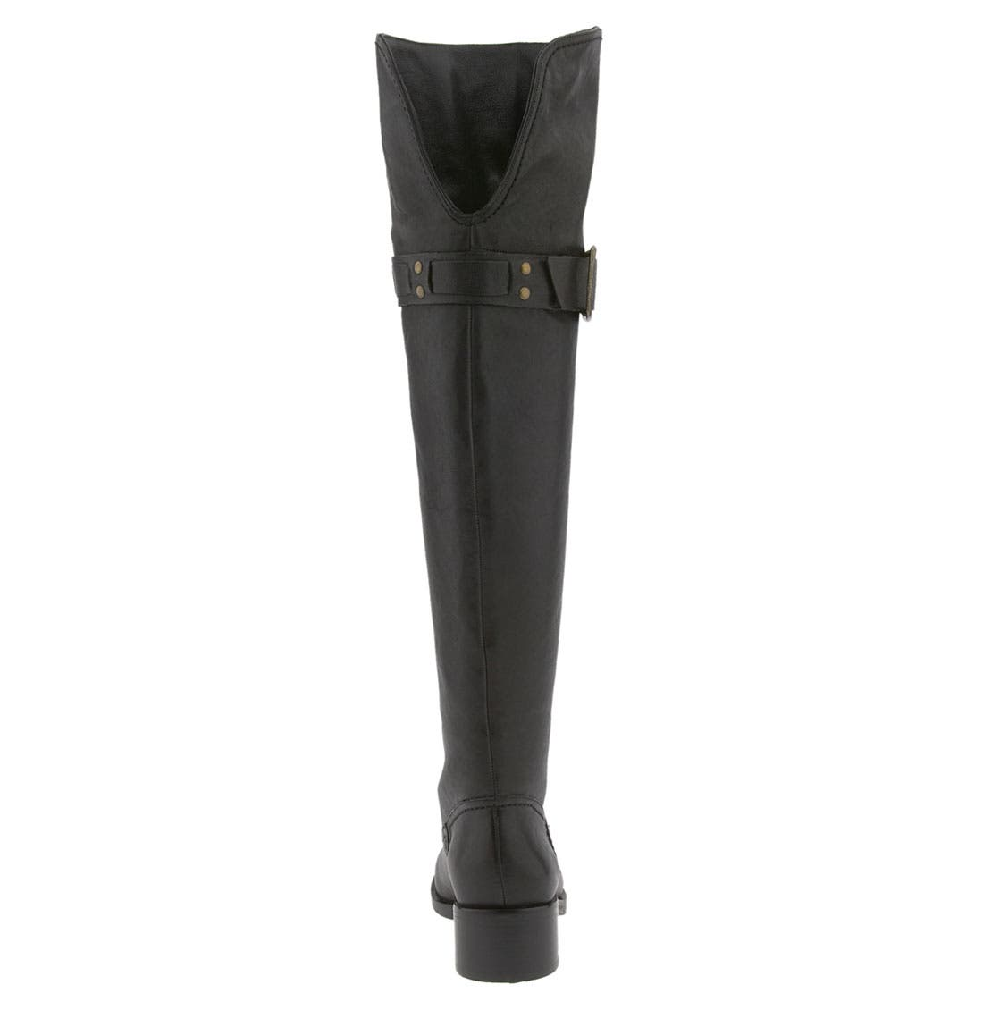 JESSICA SIMPSON, 'Clancey' Over the Knee Boot, Alternate thumbnail 2, color, 001