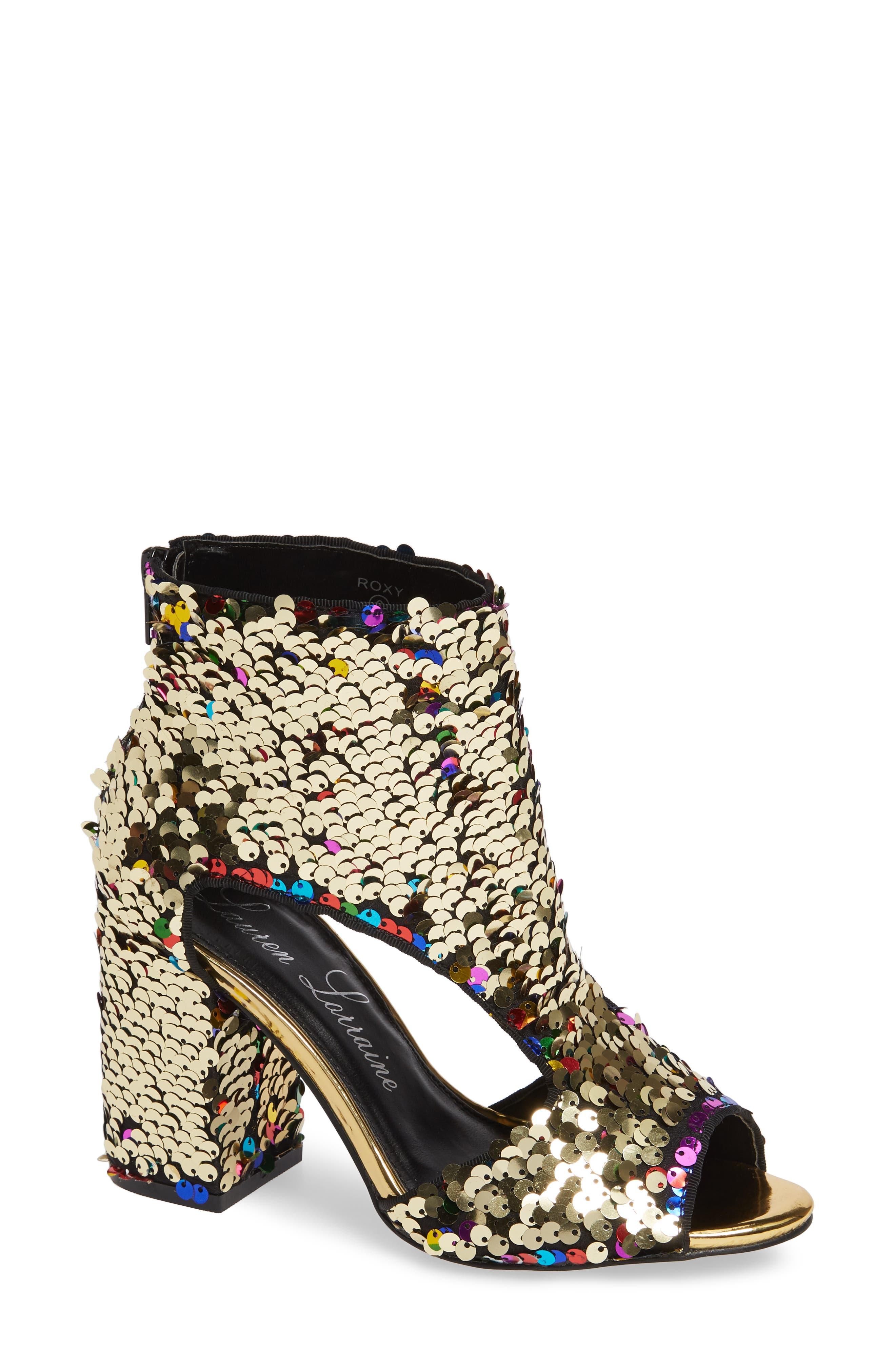 LAUREN LORRAINE, Roxy Sequin Sandal, Alternate thumbnail 2, color, 710