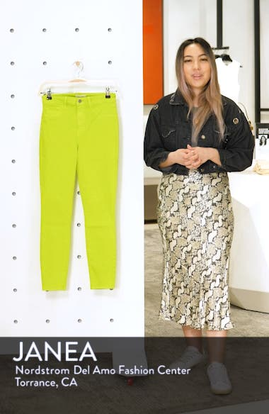High Waist Skinny Ankle Jeans, sales video thumbnail