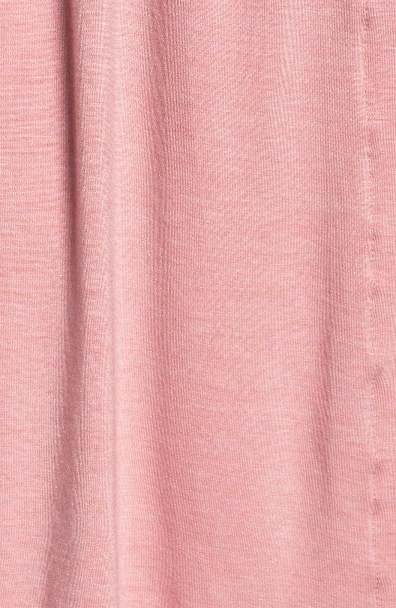 PAPINELLE, Short Robe, Alternate thumbnail 5, color, VINTAGE PINK