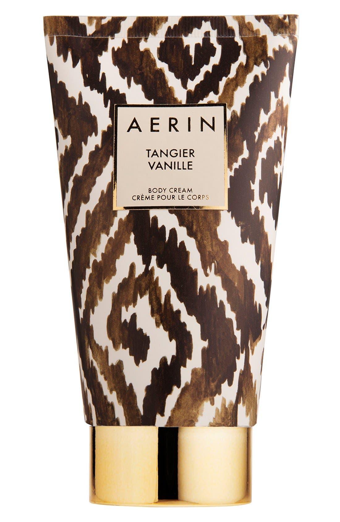 ESTÉE LAUDER, AERIN Beauty Tangier Vanille Body Cream, Main thumbnail 1, color, NO COLOR