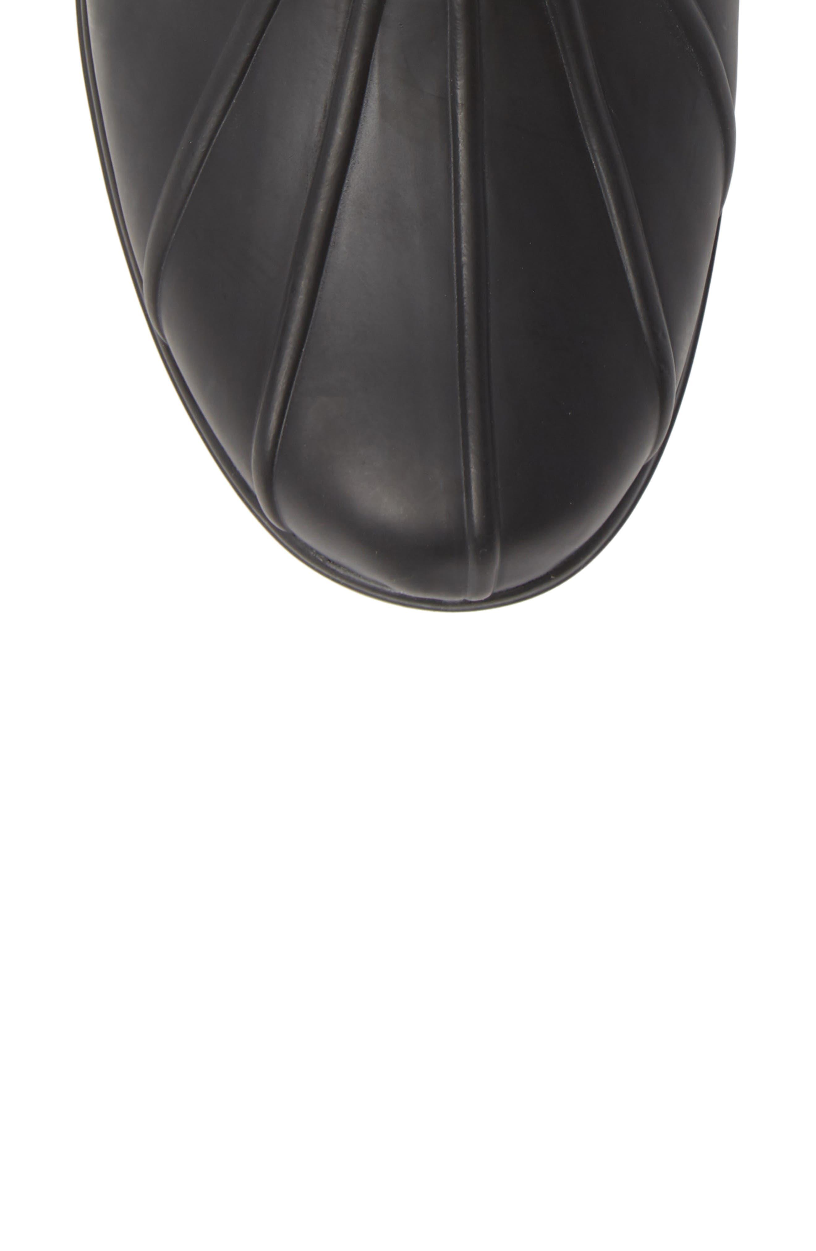PENDLETON, Waterproof Duck Boot, Alternate thumbnail 5, color, BLACK RUBBER
