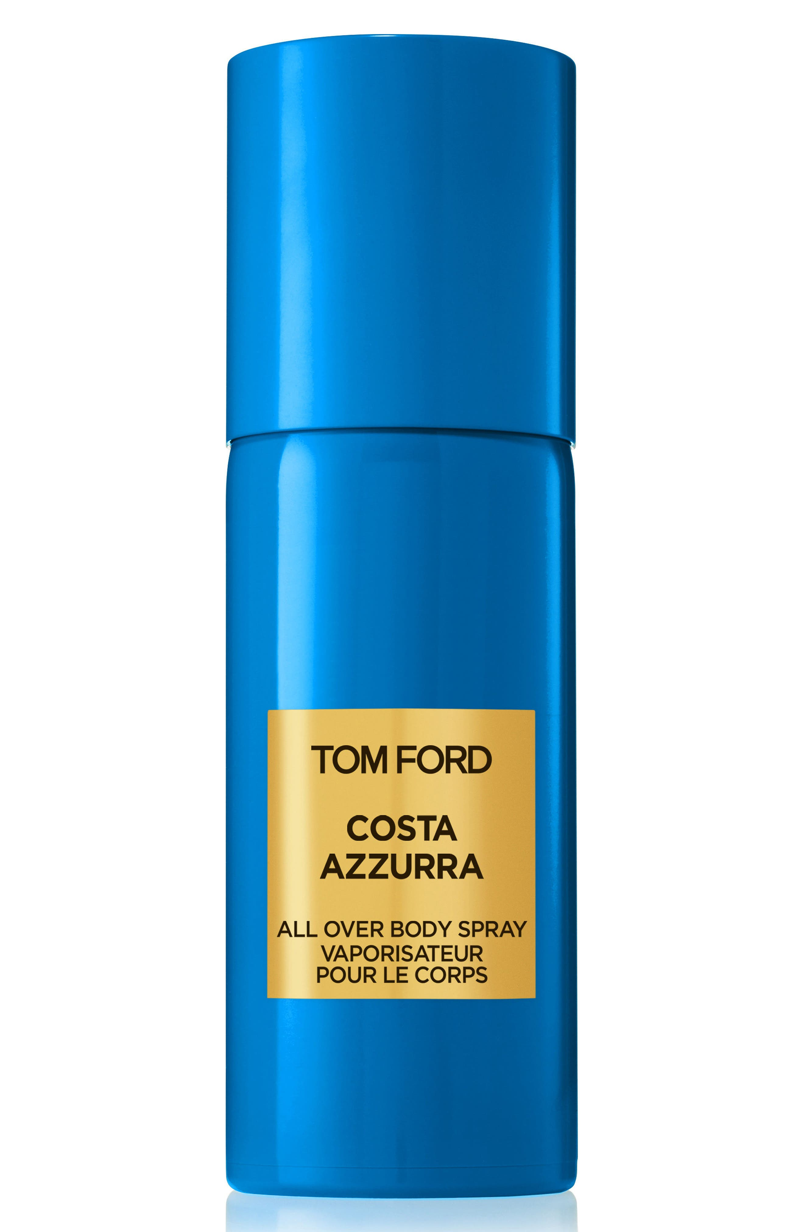 TOM FORD, Private Blend Costa Azzurra All Over Body Spray, Main thumbnail 1, color, NO COLOR