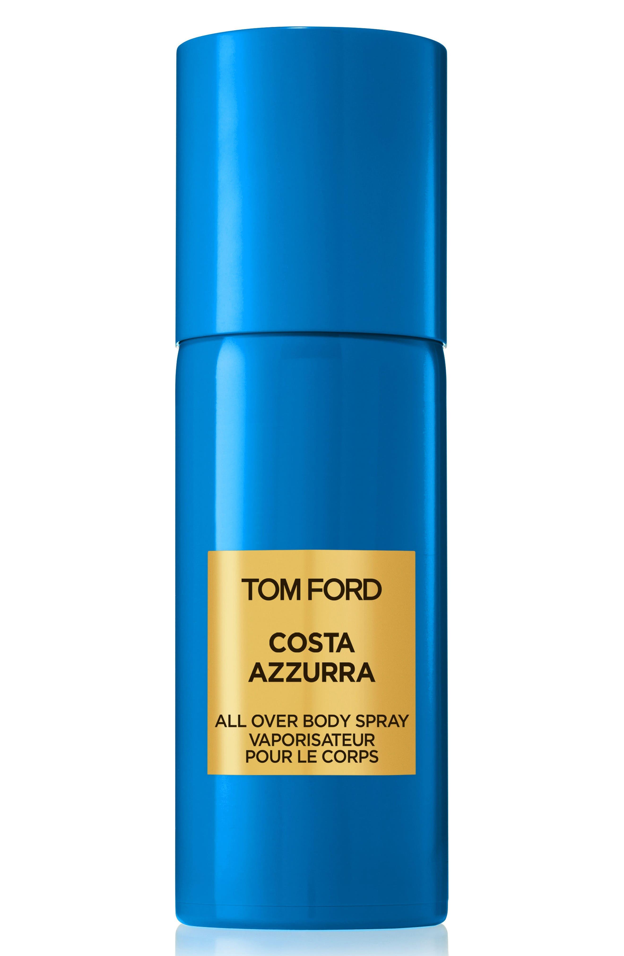 TOM FORD Private Blend Costa Azzurra All Over Body Spray, Main, color, NO COLOR