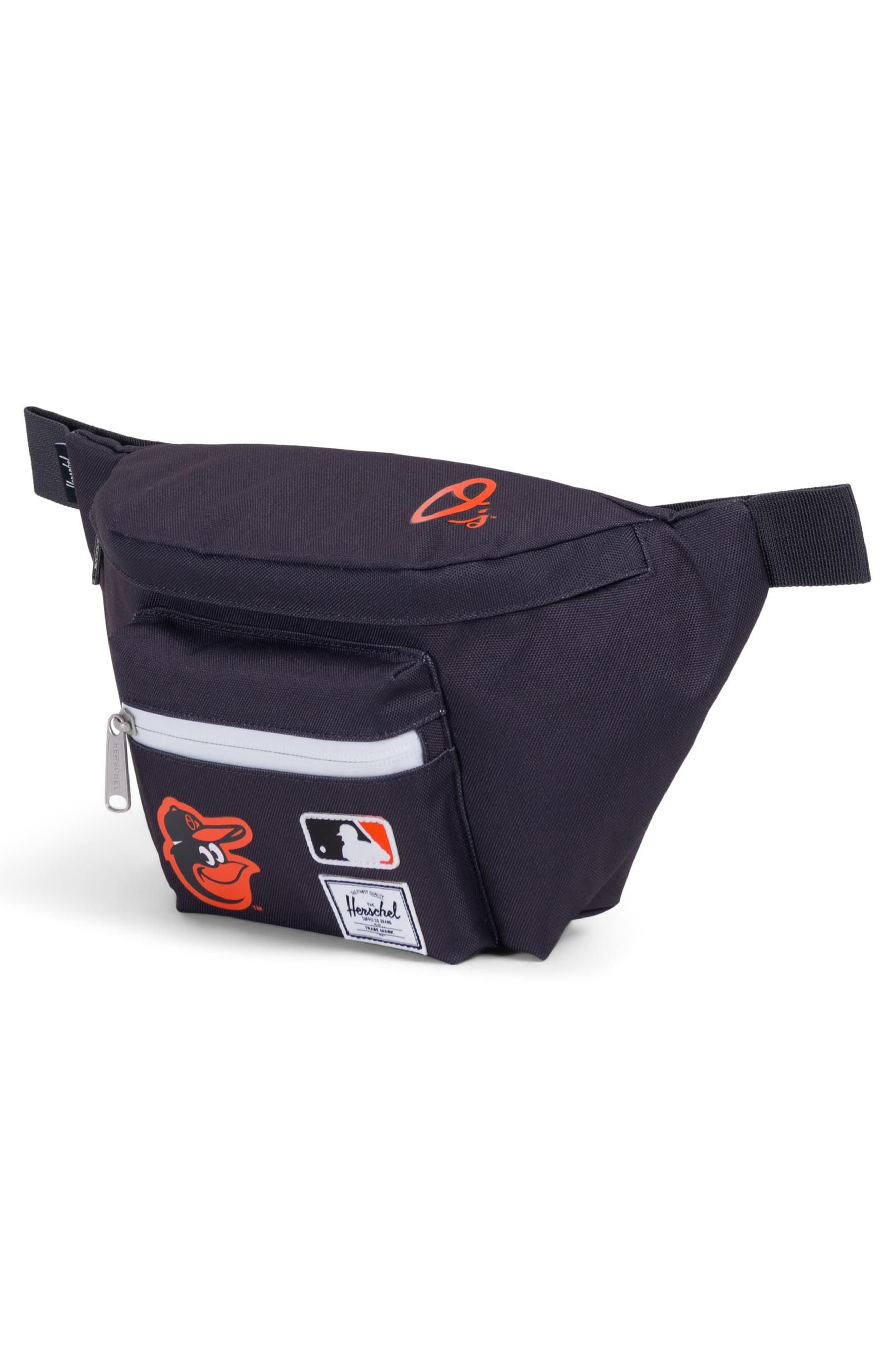 HERSCHEL SUPPLY CO., MLB American League Hip Pack, Alternate thumbnail 2, color, 001