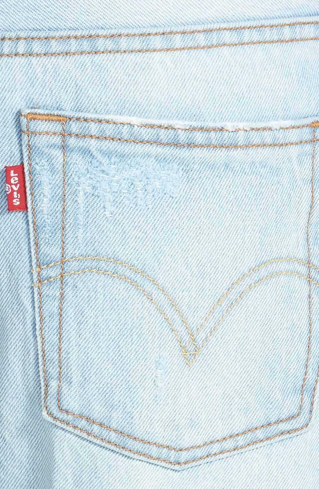 LEVI'S<SUP>®</SUP>, Levi's '501<sup>®</sup> CT' Boyfriend Jeans, Alternate thumbnail 2, color, 400