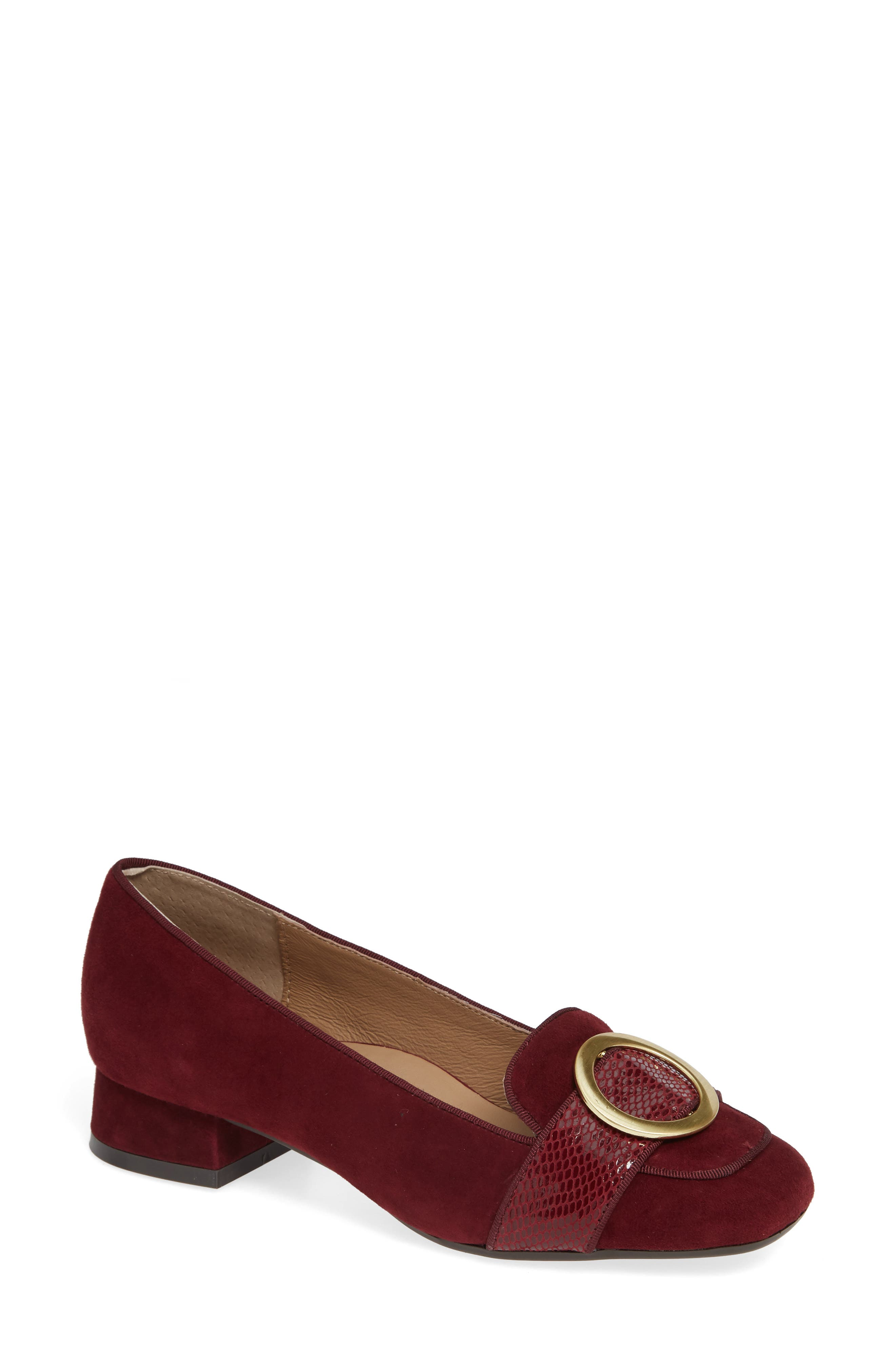 Bettye Muller Concepts Garbo Loafer, Burgundy
