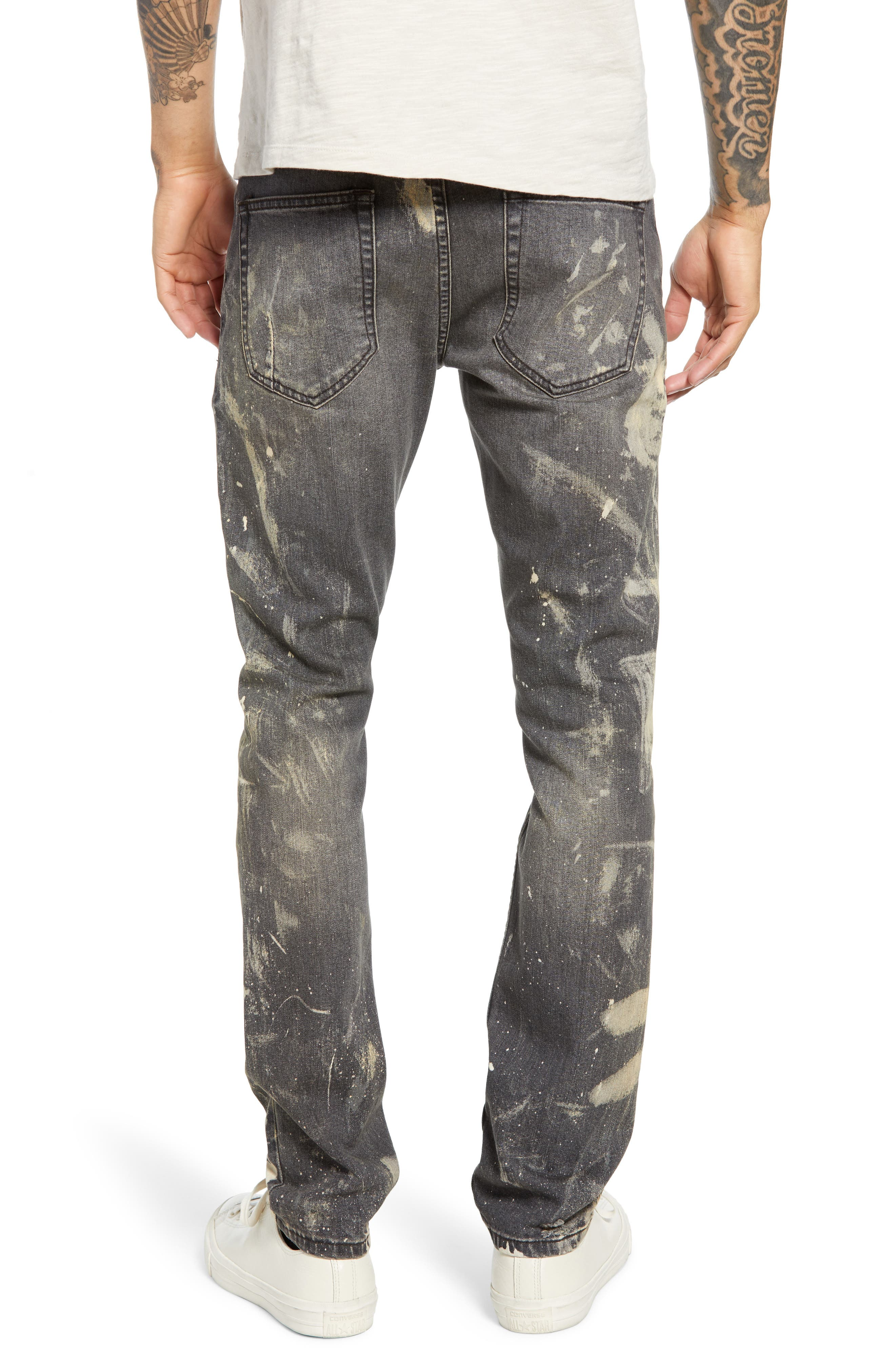 BLANKNYC, Horatio Skinny Fit Jeans, Alternate thumbnail 2, color, GOOD TIMES BAD TIMES