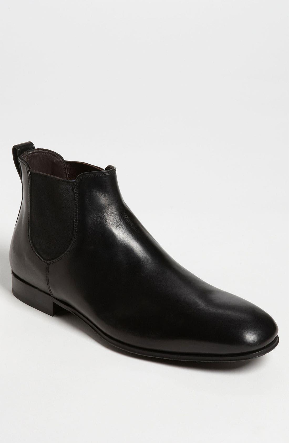 TO BOOT NEW YORK 'Luke' Chelsea Boot, Main, color, 001