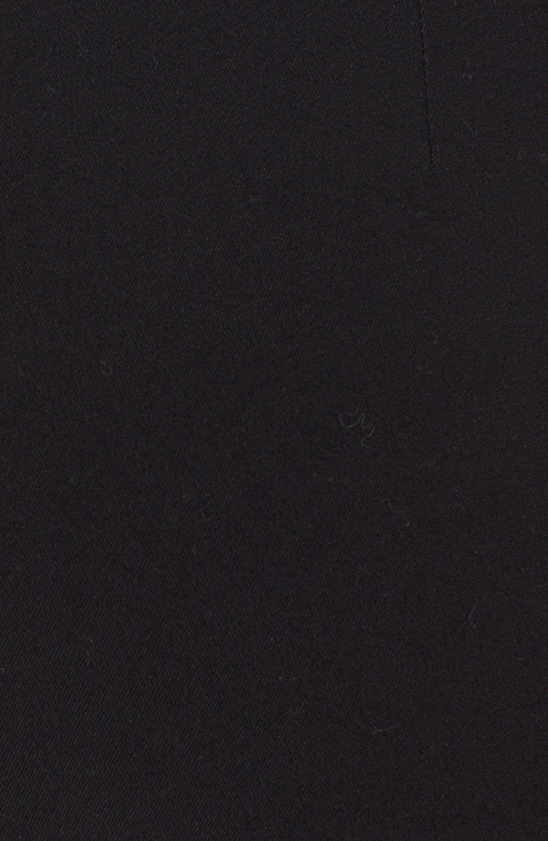 RAG & BONE, 'Simone' Slim AnklePants, Alternate thumbnail 2, color, BLACK