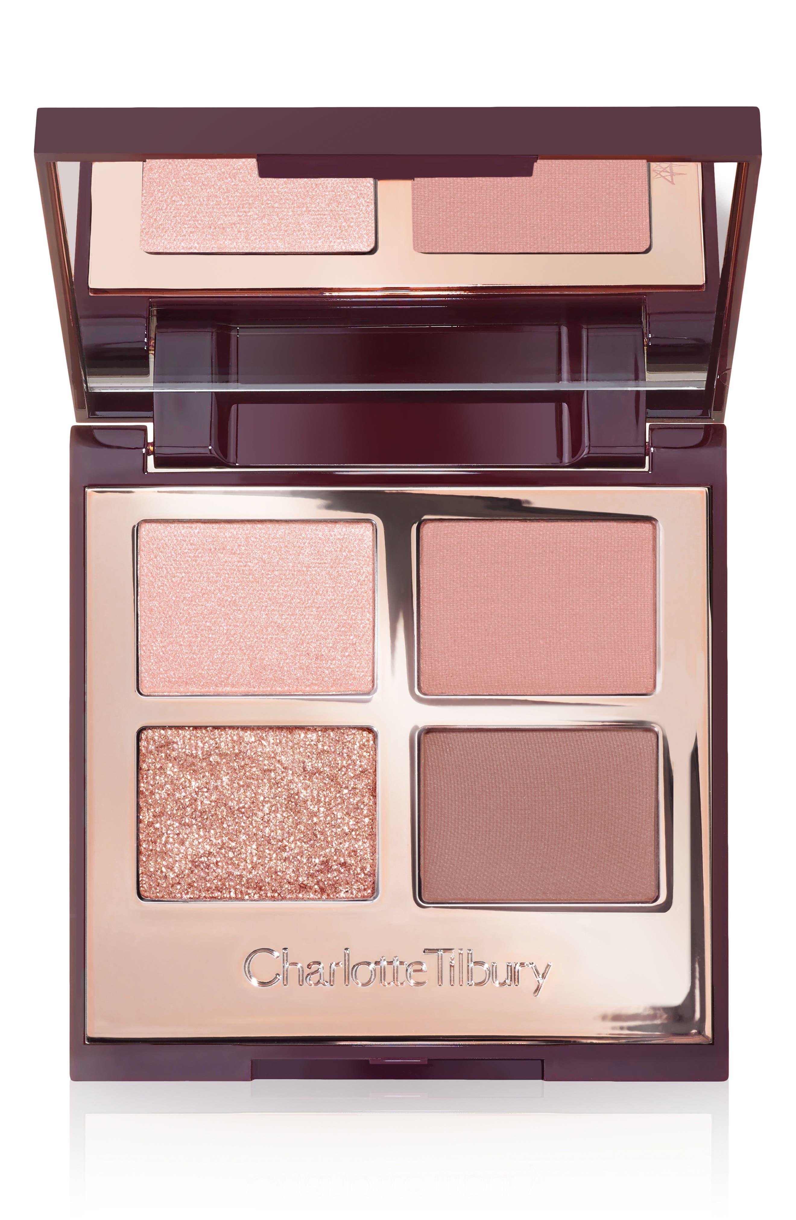 CHARLOTTE TILBURY, Pillowtalk Luxury Eyeshadow Palette, Main thumbnail 1, color, PILLOW TALK