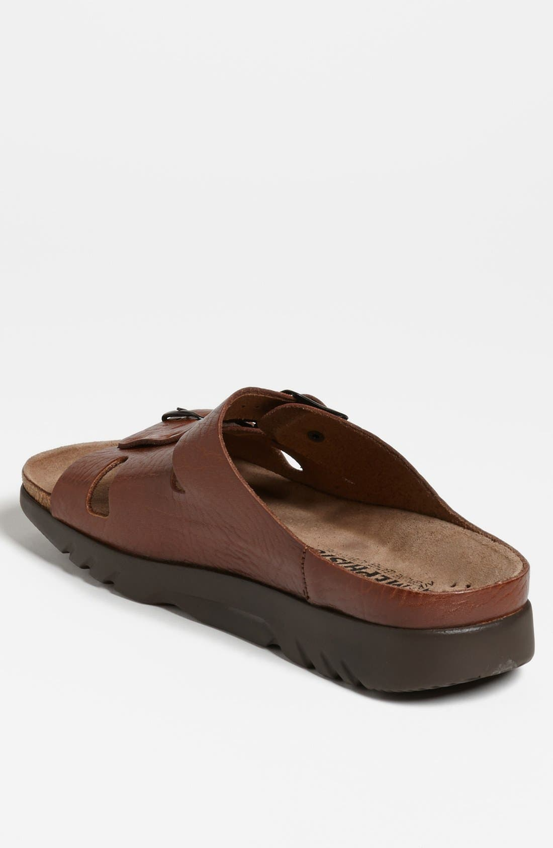 MEPHISTO, 'Zach 3' Sandal, Alternate thumbnail 2, color, TAN GRAIN