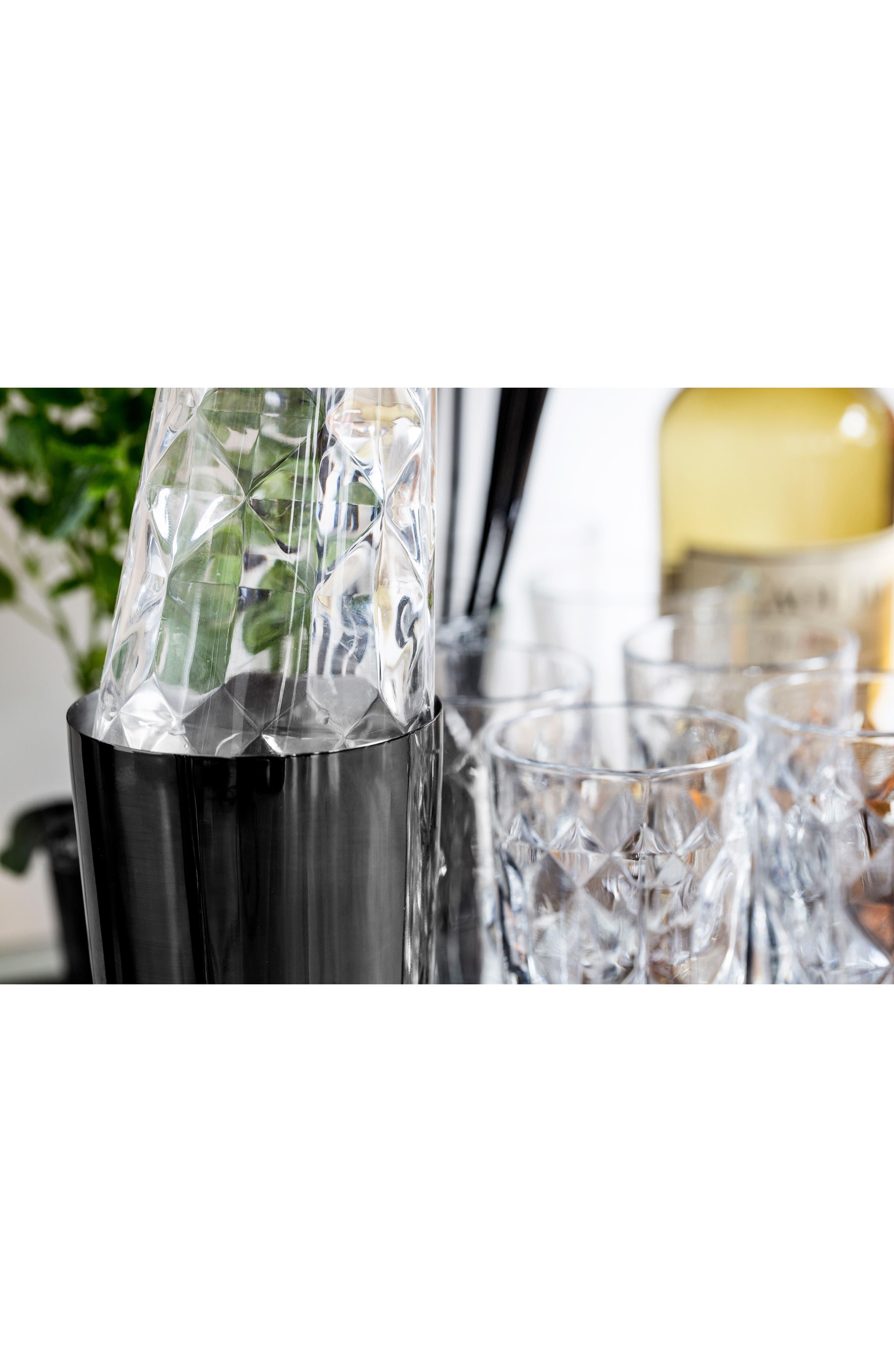 SAGAFORM, 2-Piece Cocktail Shaker Set, Alternate thumbnail 4, color, BLACK