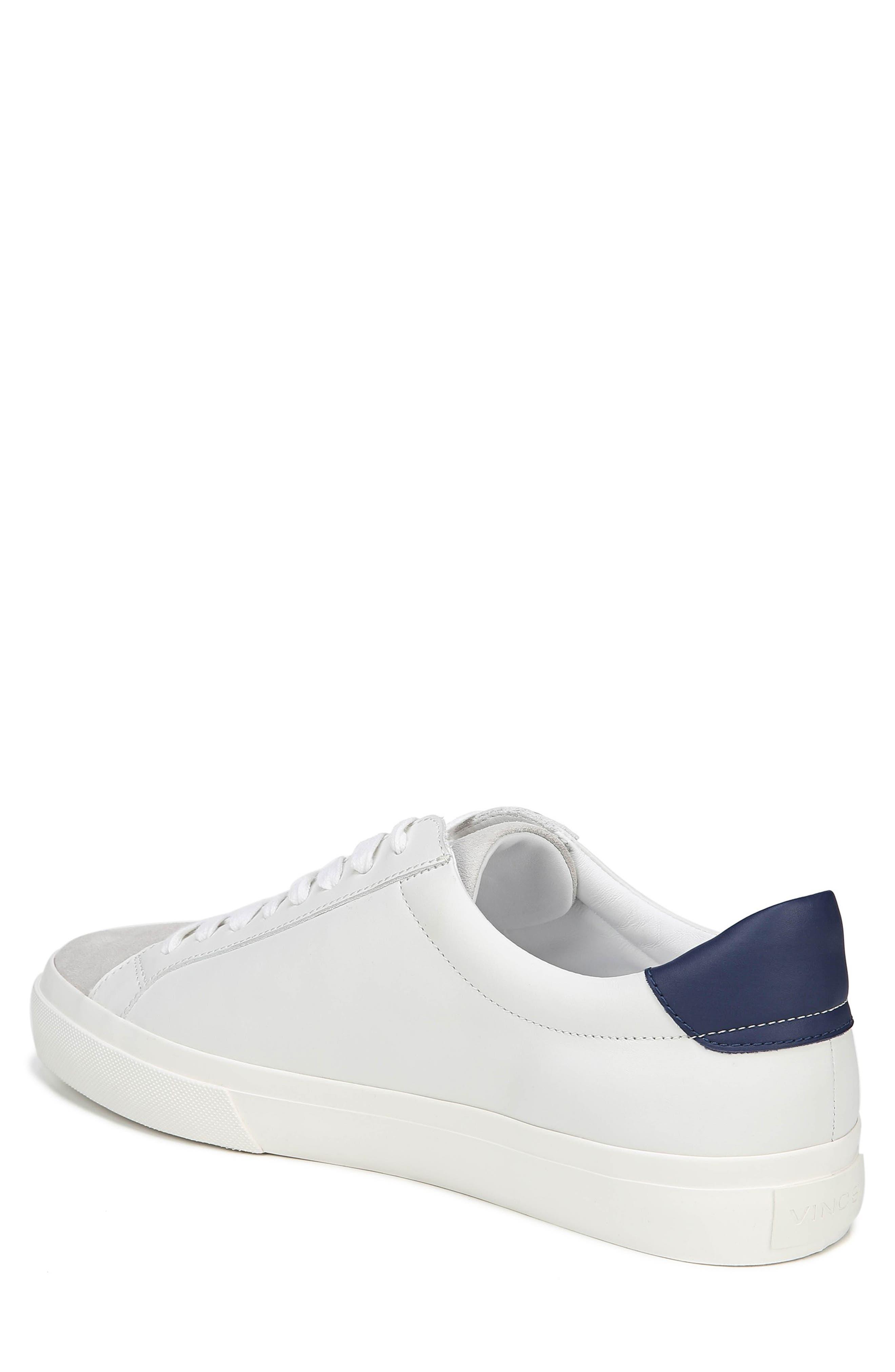 VINCE, Fulton Sneaker, Alternate thumbnail 2, color, WHITE