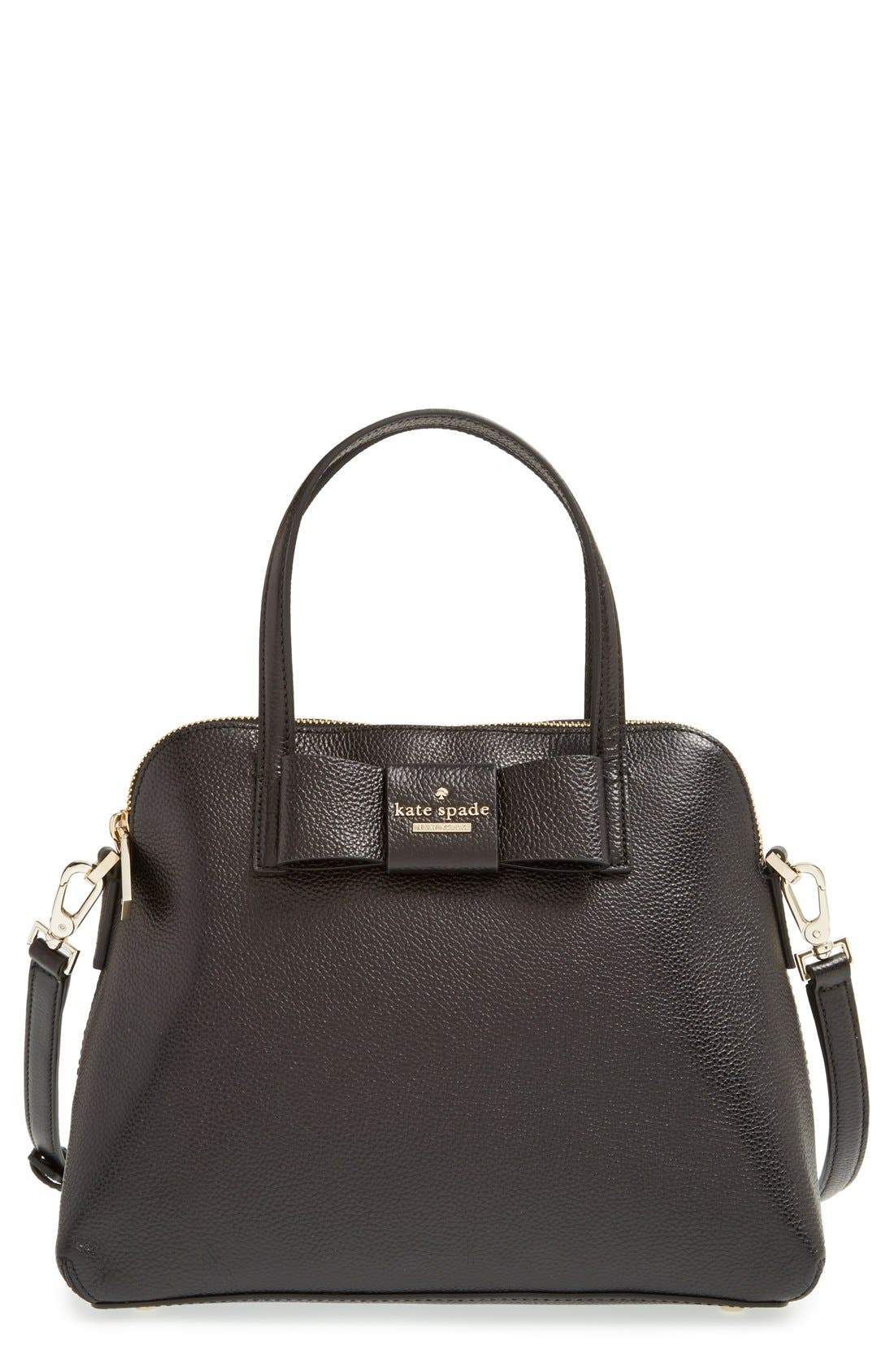 KATE SPADE NEW YORK 'julia street - maise' satchel, Main, color, 001
