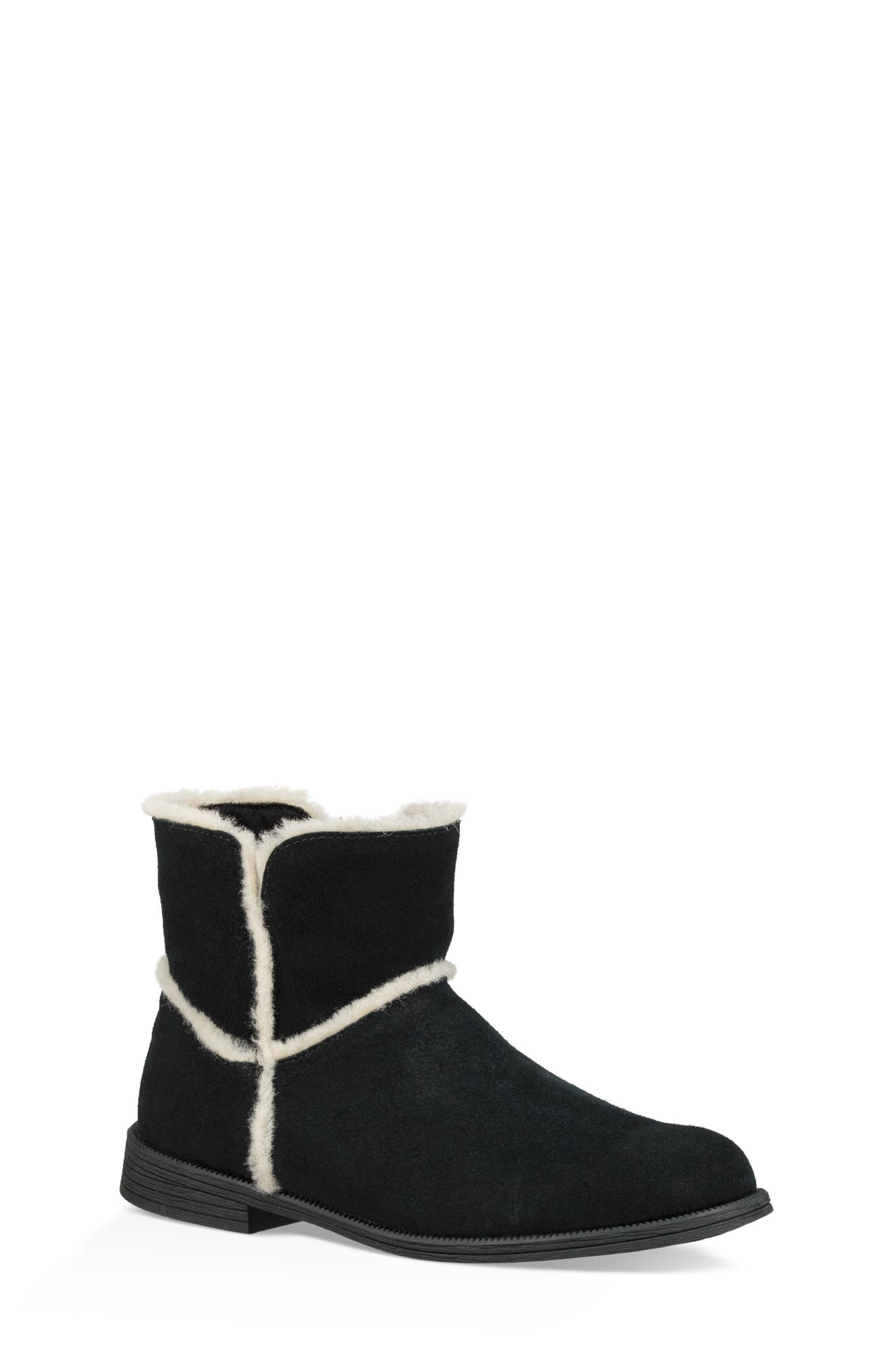 UGG<SUP>®</SUP>, Coletta Short Boot, Main thumbnail 1, color, BLACK