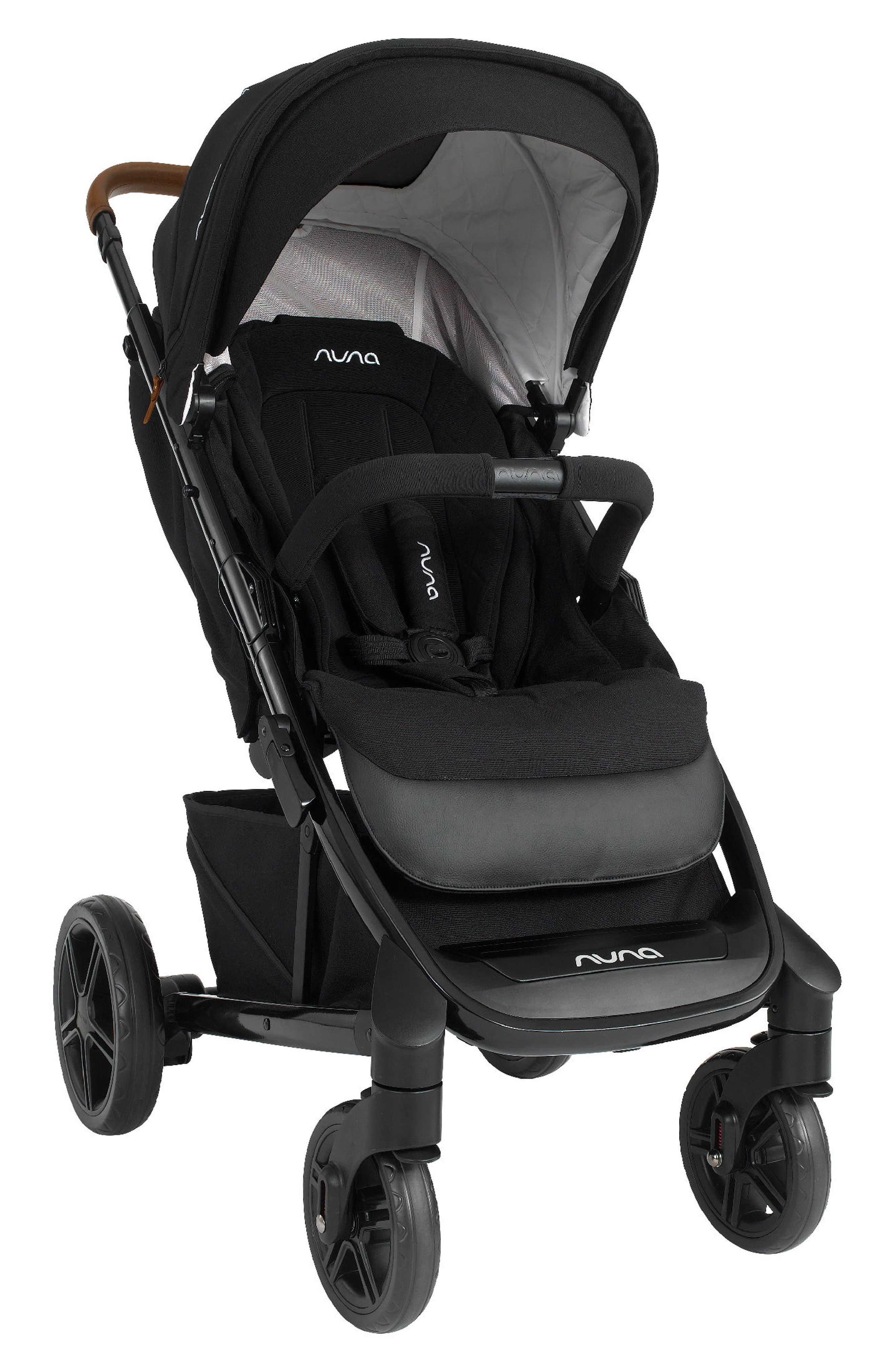 NUNA, 2019 TAVO<sup>™</sup> Stroller & PIPA<sup>™</sup> Lite LX Car Seat Travel System, Alternate thumbnail 4, color, CAVIAR