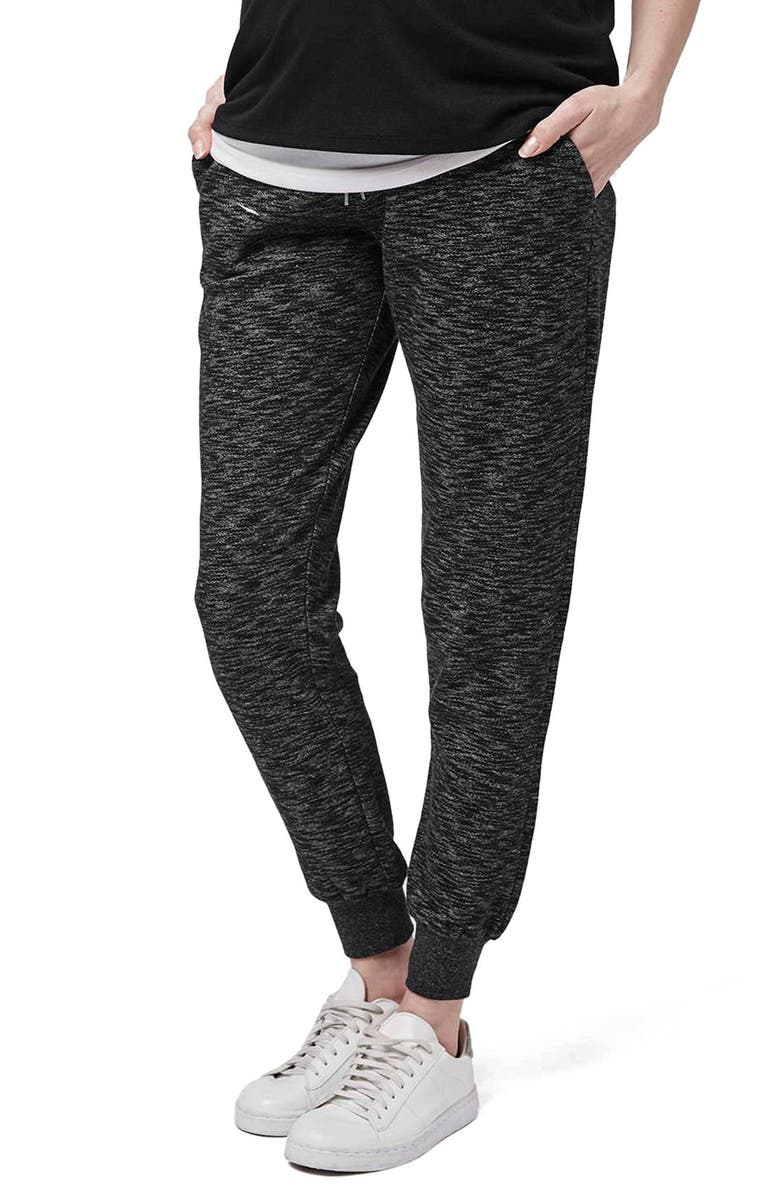 e939e4d8f7376 TOPSHOP 'Jonas' Marled Maternity Jogger Pants, Main, color, ...