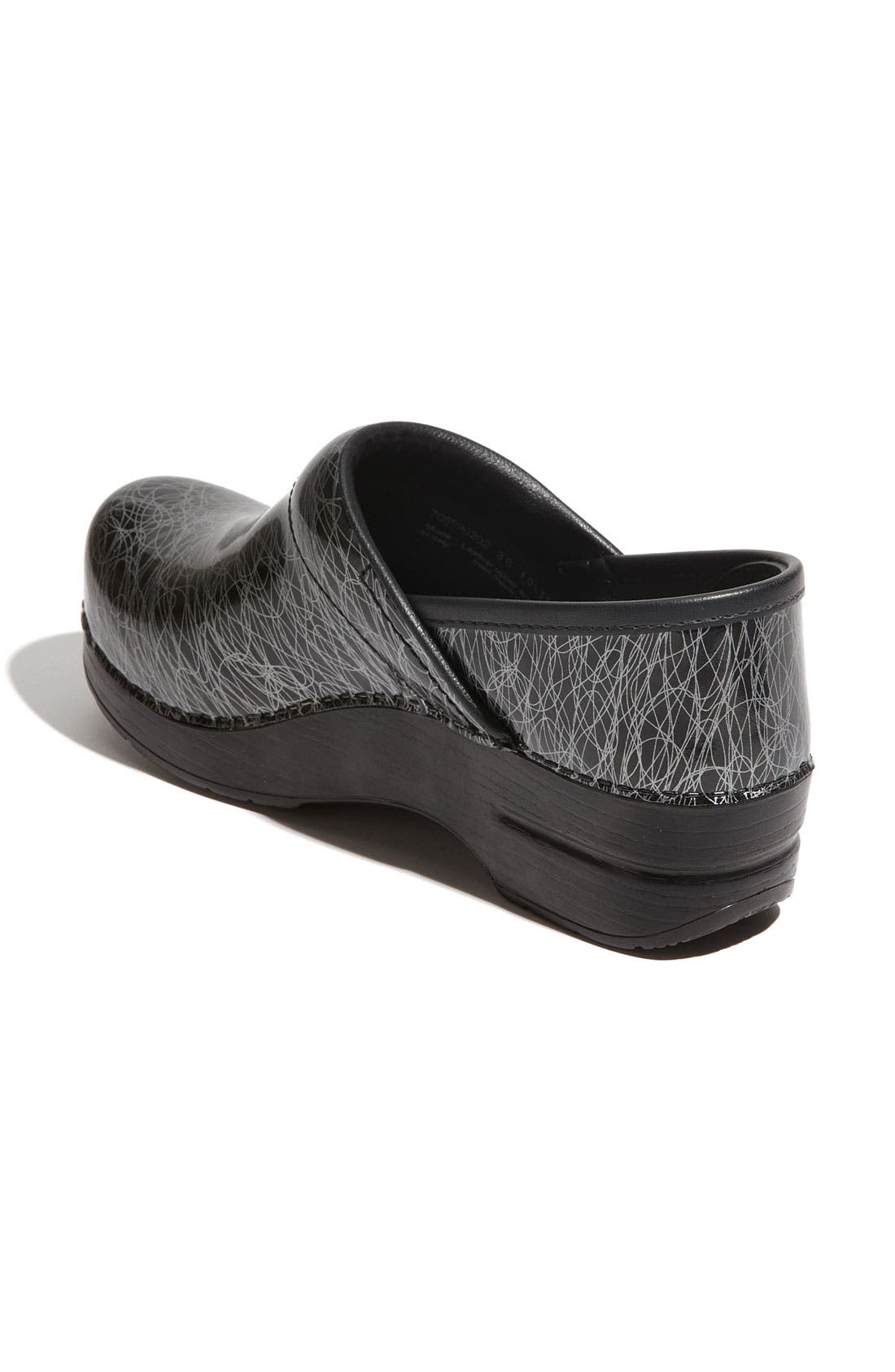 DANSKO, 'Professional Specialty' Clog, Alternate thumbnail 2, color, 001