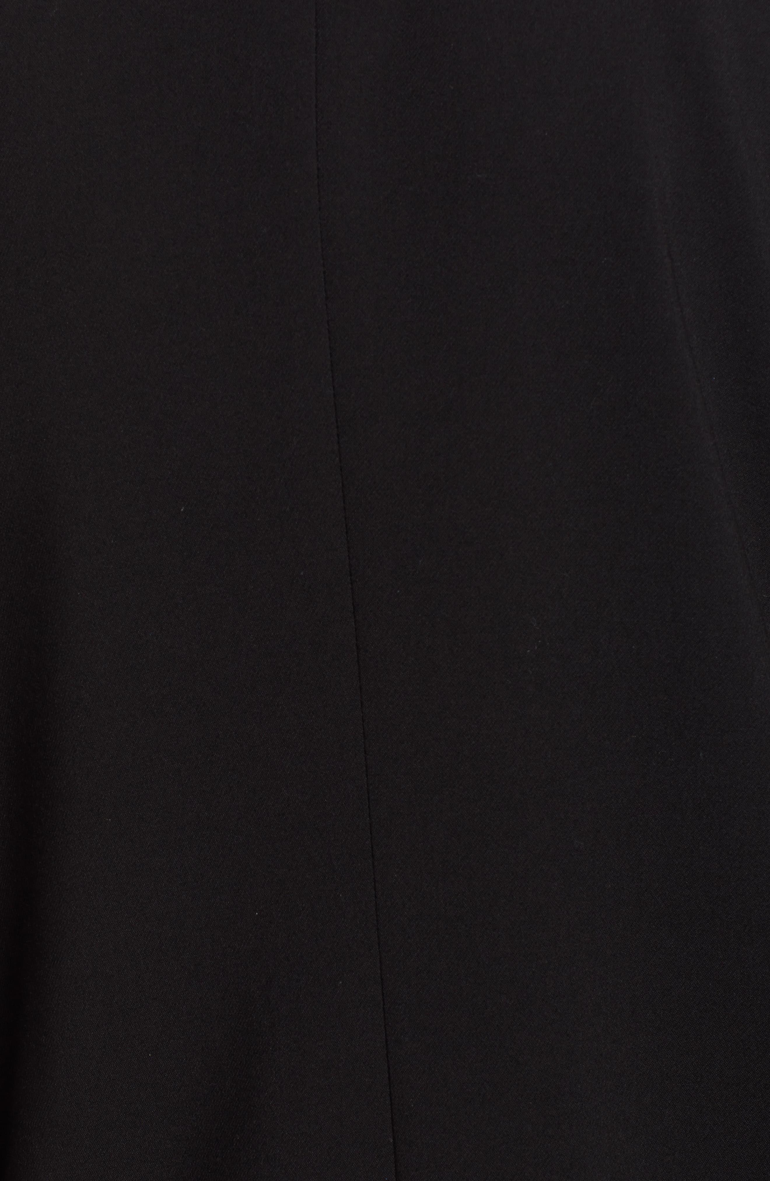 HALOGEN<SUP>®</SUP>, Open Front Blazer, Alternate thumbnail 7, color, BLACK