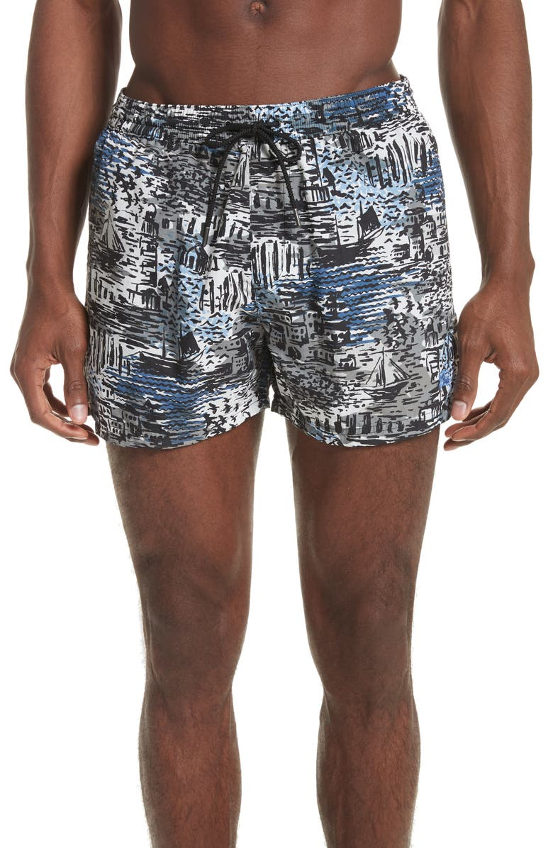 f15694ff58 BURBERRY Grayton Swim Trunks, Main, color, 409