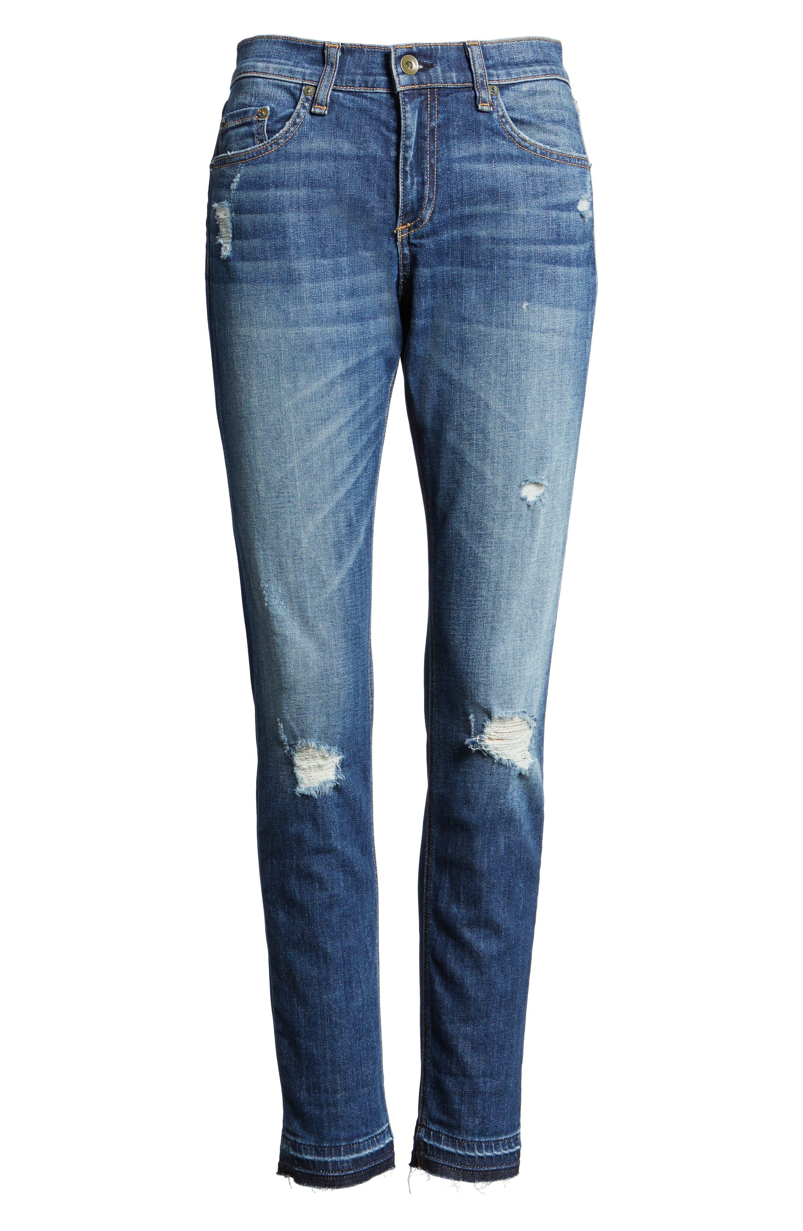 RAG & BONE The Dre Slim Boyfriend Jeans, Main, color, 423