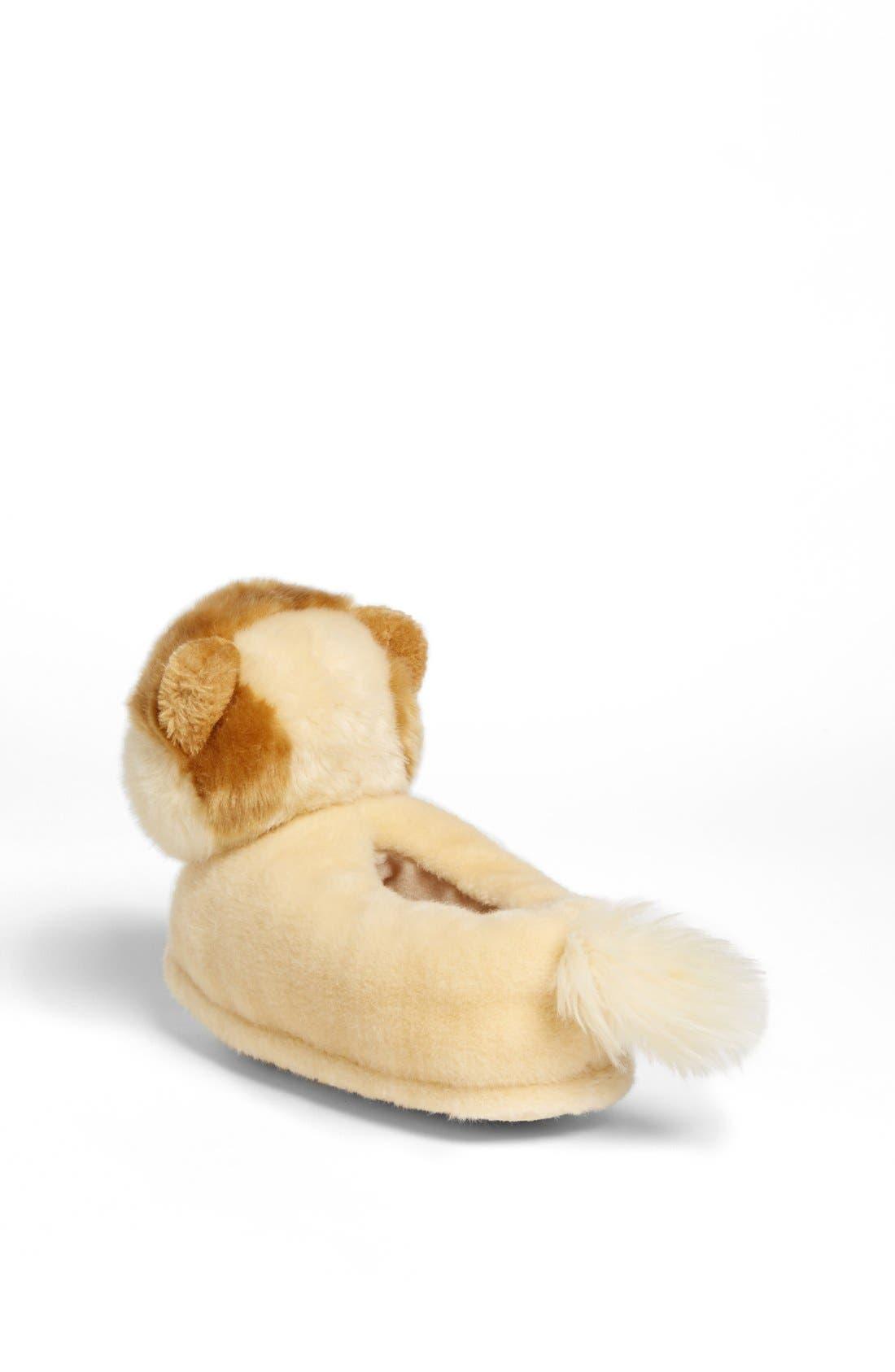 SG FOOTWEAR, 'Boo - The World's Cutest Dog' Slipper, Alternate thumbnail 4, color, 200