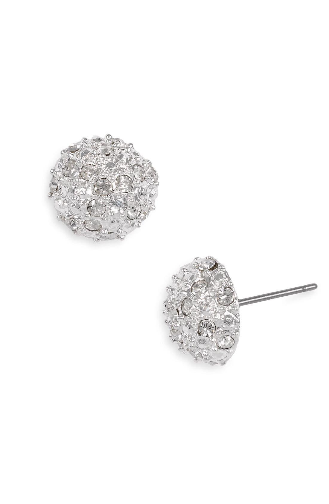 BP., Rachel Stone Dome Stud Earrings, Main thumbnail 1, color, 040