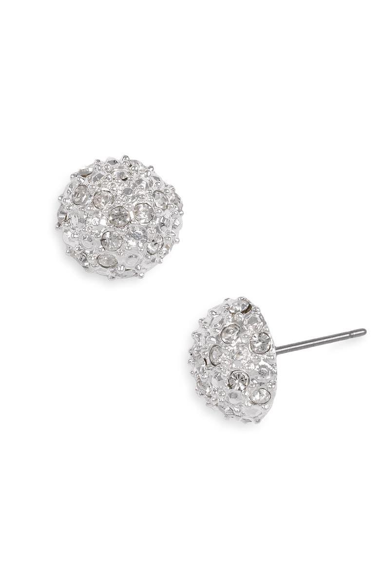 260067076 Rachel Stone Dome Stud Earrings, Main, color, 040