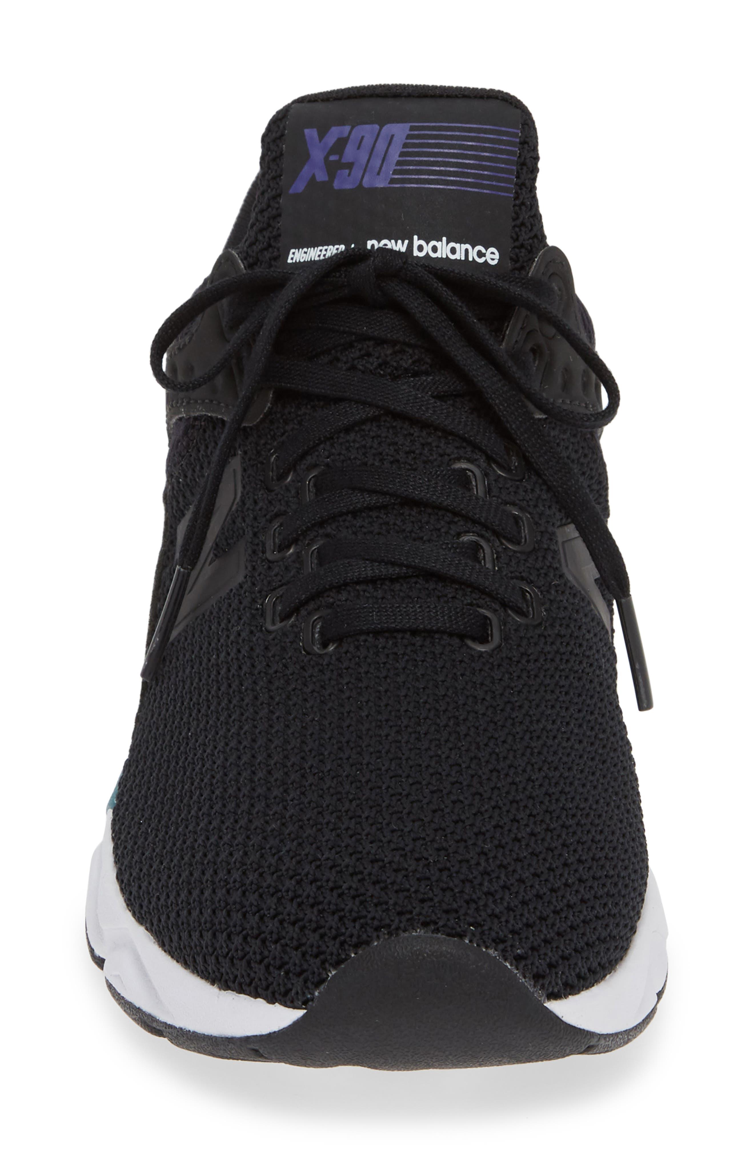 NEW BALANCE, X-90 Sneaker, Alternate thumbnail 4, color, PHANTOM
