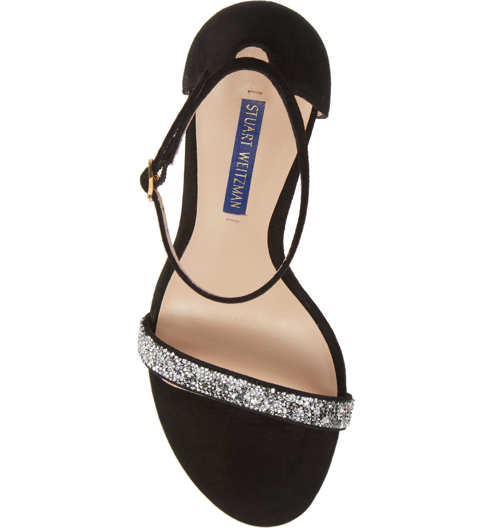 71d2d1af6783 Stuart Weitzman Nudistsong Ankle Strap Sandal (Women)