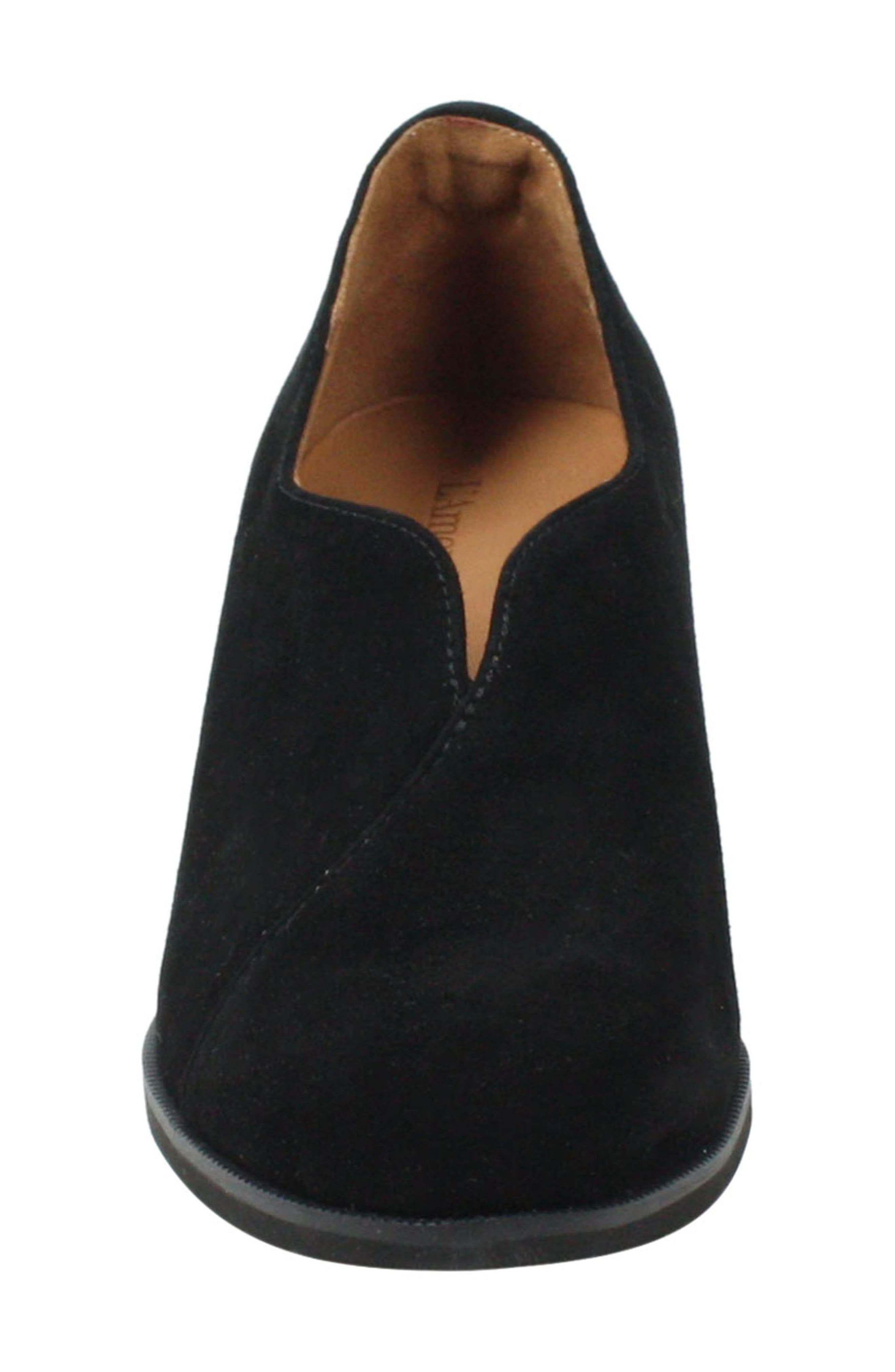 L'AMOUR DES PIEDS, Jessica Bootie, Alternate thumbnail 4, color, BLACK SUEDE
