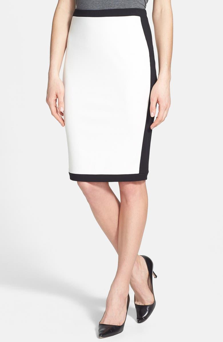 539dfeb536 BAILEY 44 'Senegal' Contrast Trim Knit Pencil Skirt, Main, color, ...