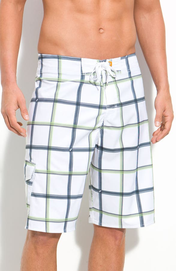 f7e1e137e7 Quiksilver Waterman Collection 'Square Root' Diamond Dobby™ Board Shorts  (Men) | Nordstrom