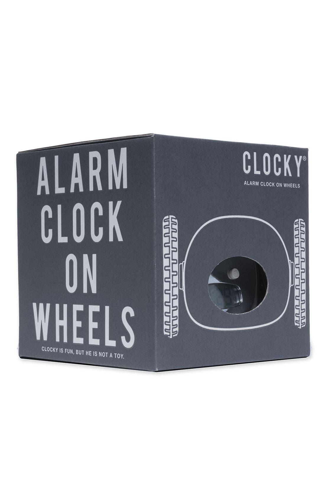 NANDA HOME, 'Clocky' Alarm Clock, Alternate thumbnail 3, color, 040