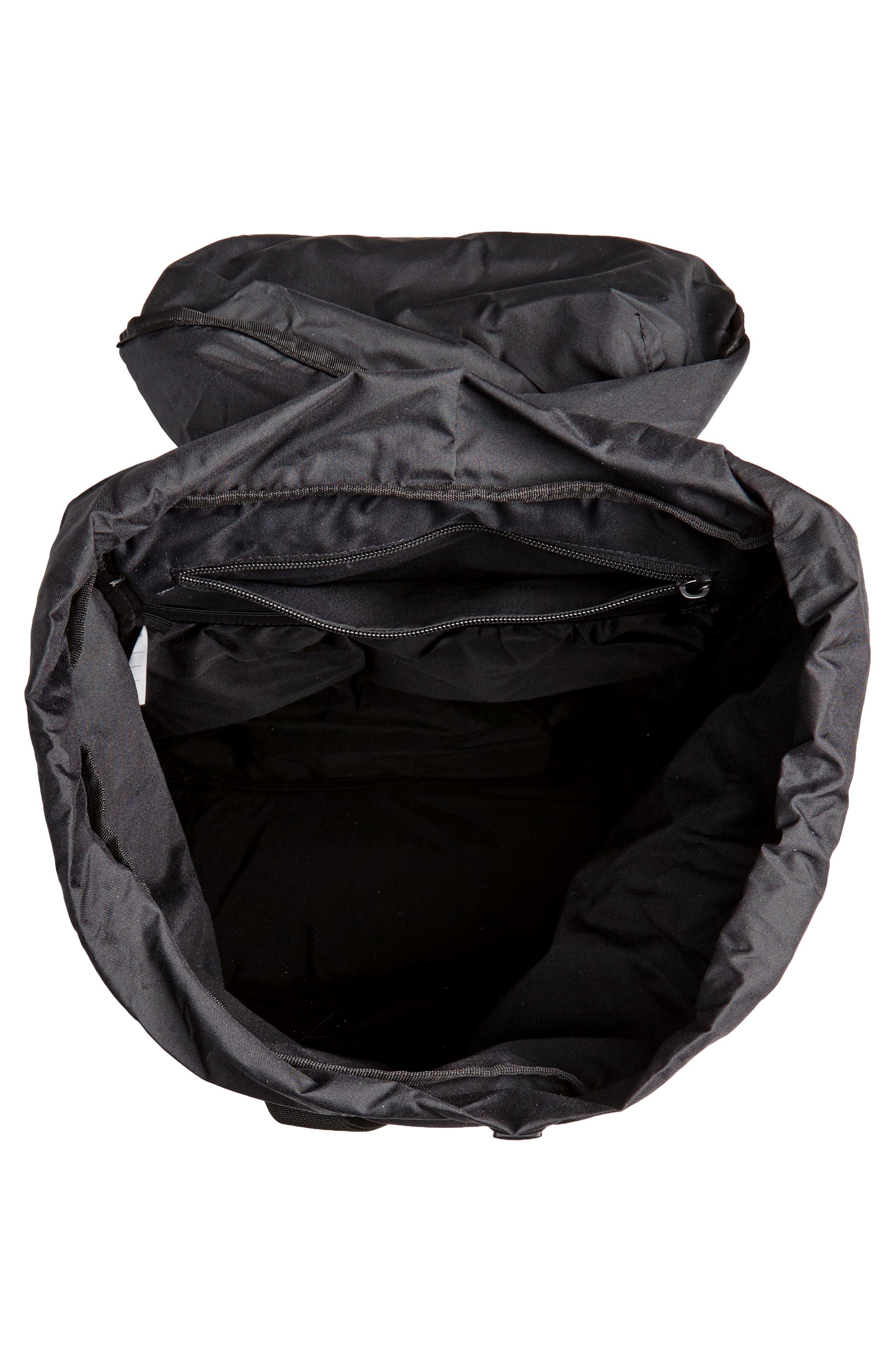 NIKE, AF-1 Backpack, Alternate thumbnail 5, color, 001