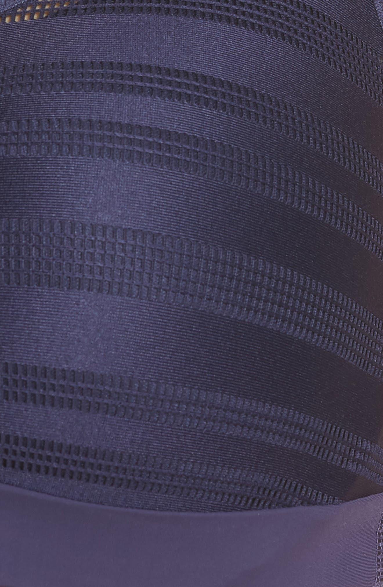 LE MYSTÈRE, Active Balance Underwire Sports Bra, Alternate thumbnail 8, color, MIDNIGHT BLUE