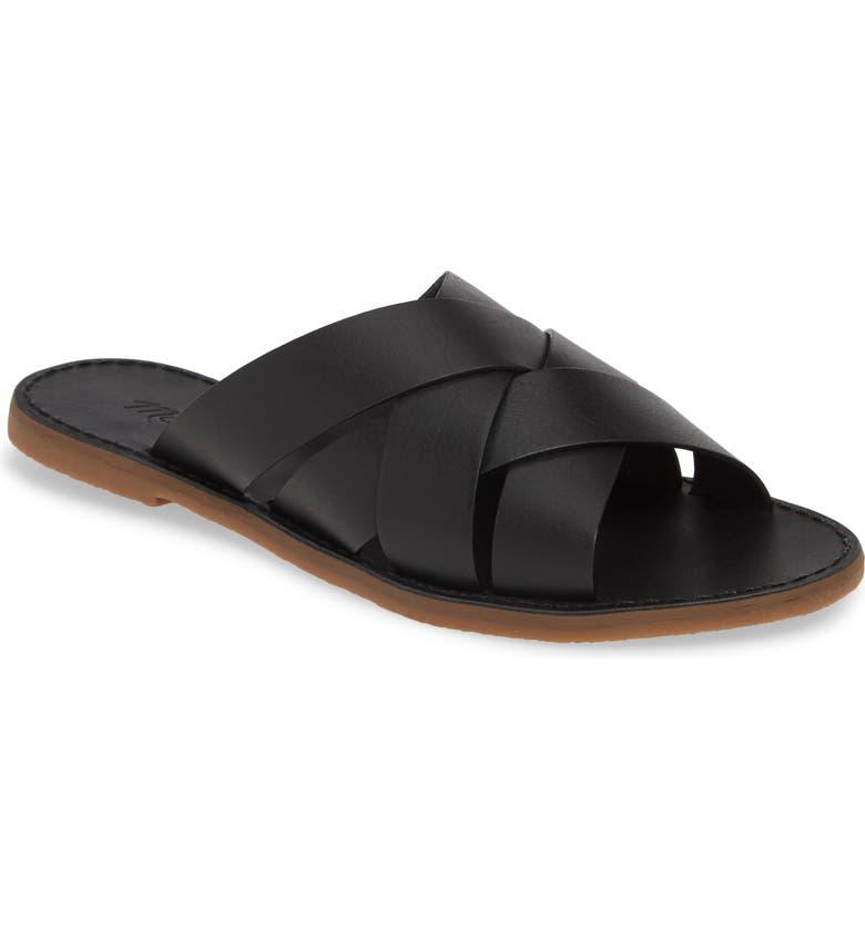 de15927c2be2 Madewell The Boardwalk Woven Slide Sandal (Women)