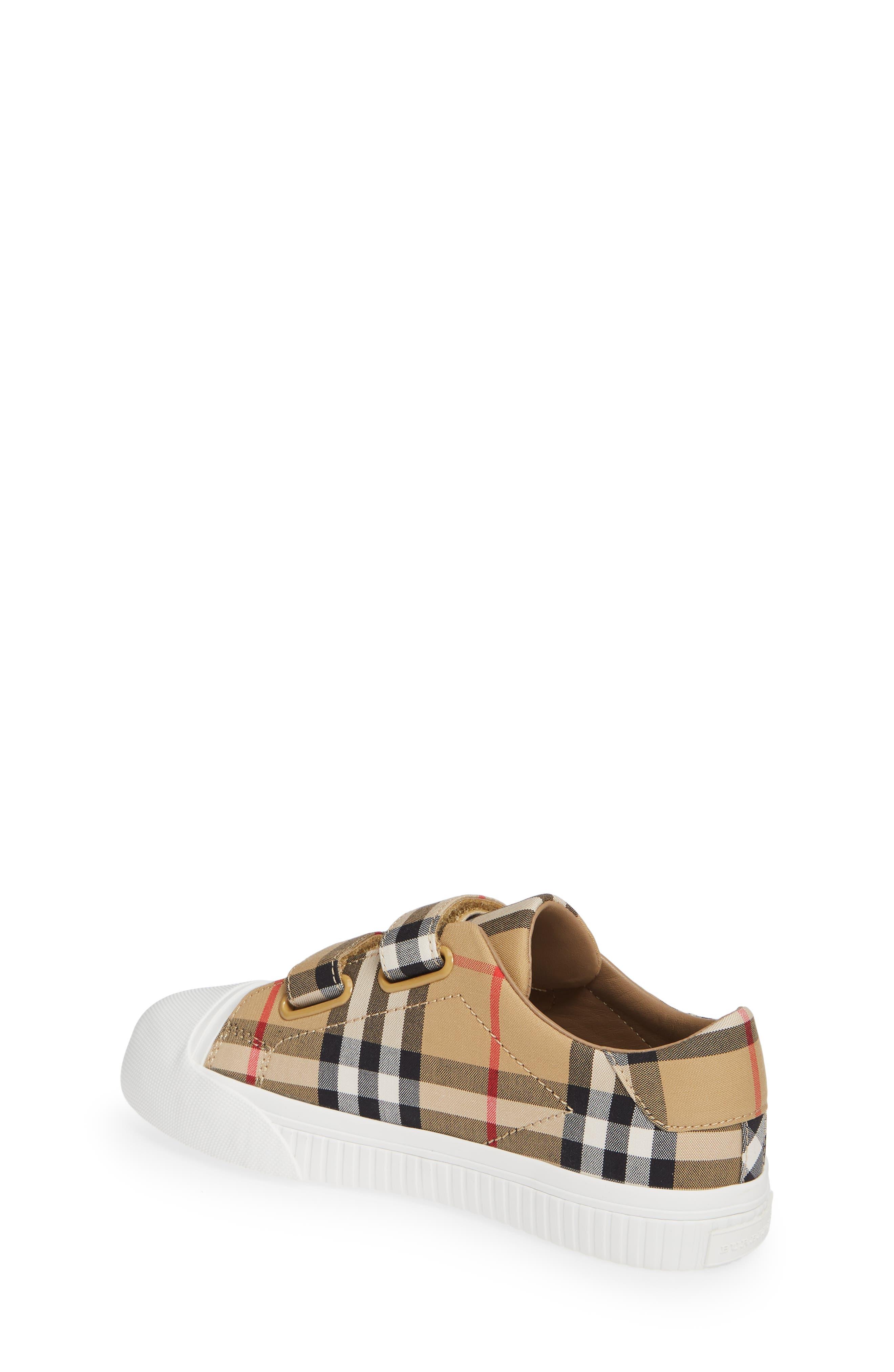 BURBERRY, Belside Sneaker, Alternate thumbnail 2, color, ANTIQUE YELLOW-OPTIC WHITE