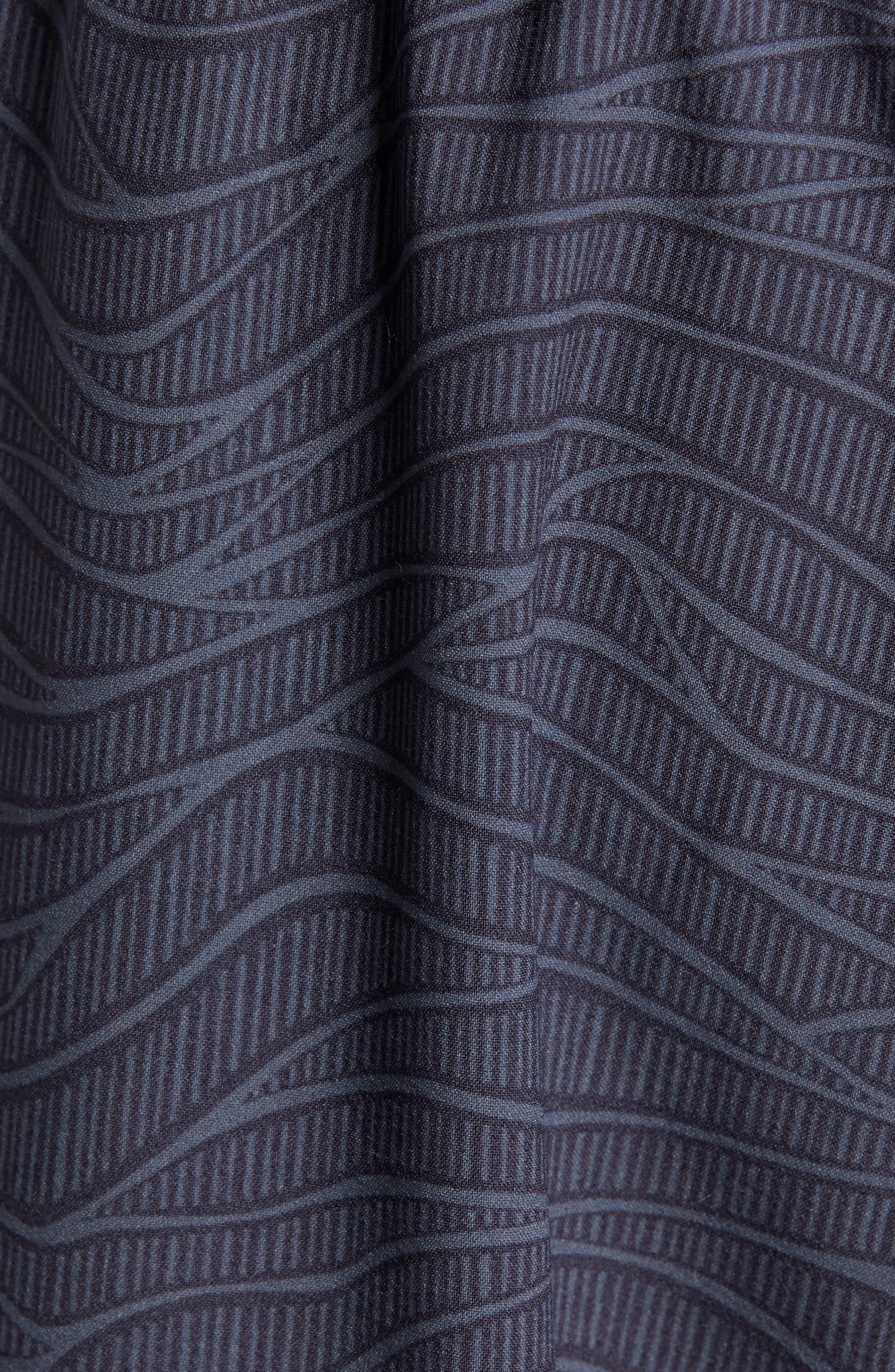 TASC PERFORMANCE, Propulsion Athletic Shorts, Alternate thumbnail 6, color, BLACK SONIC WAVE