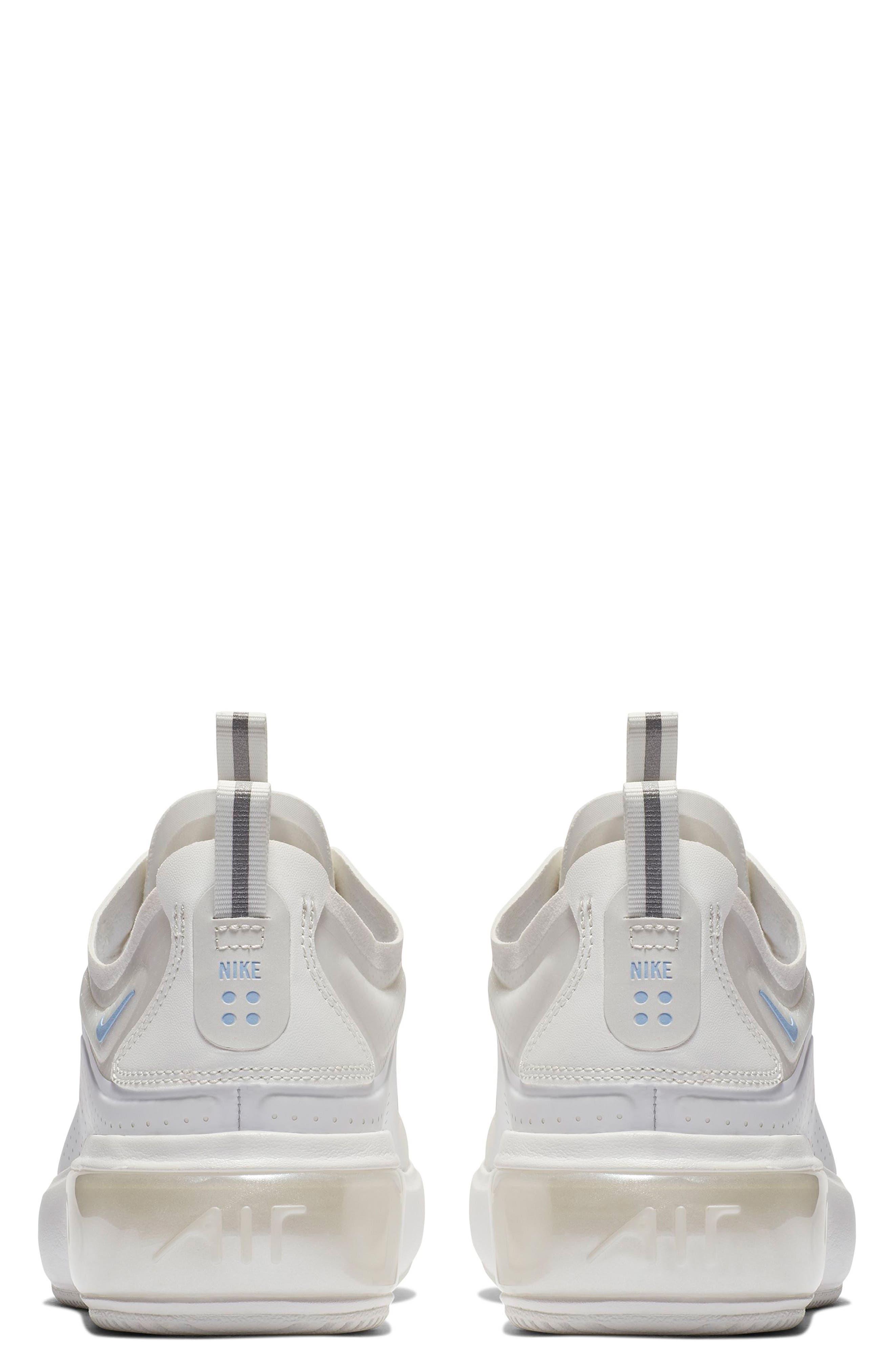 NIKE, Air Max DIA SE Running Shoe, Alternate thumbnail 2, color, WHITE/ ALUMINUM/ WHITE